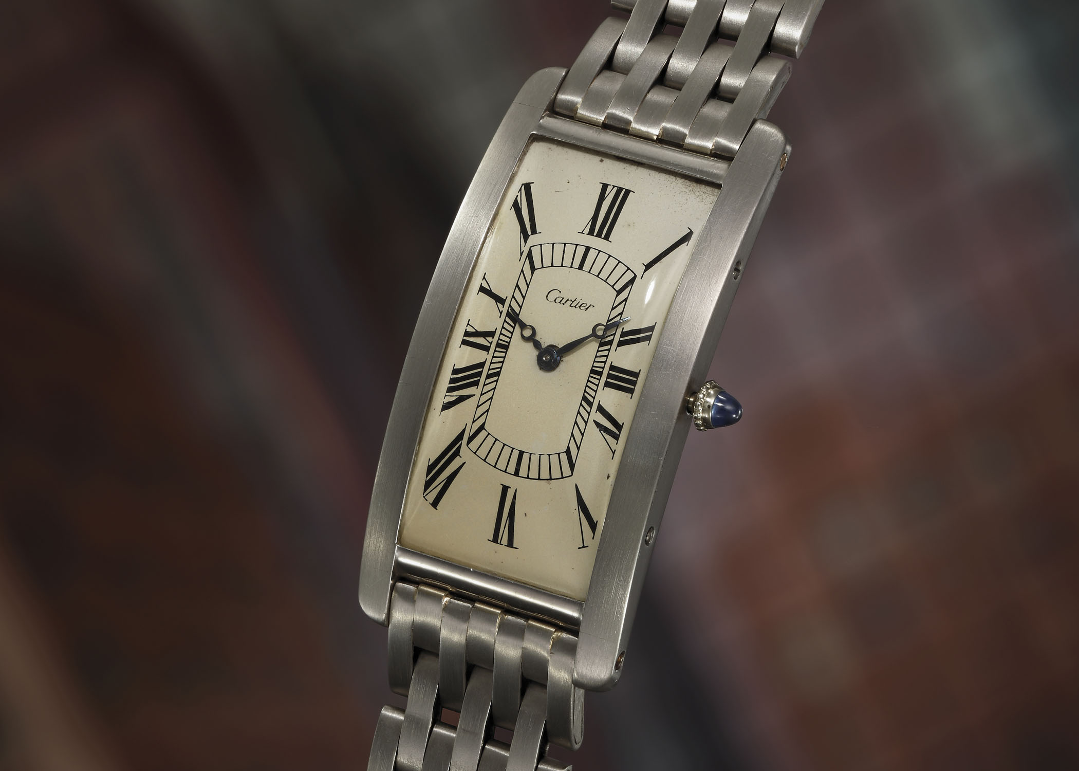 Cartier Tank Cintrée Platinum - Phillips New York Auction
