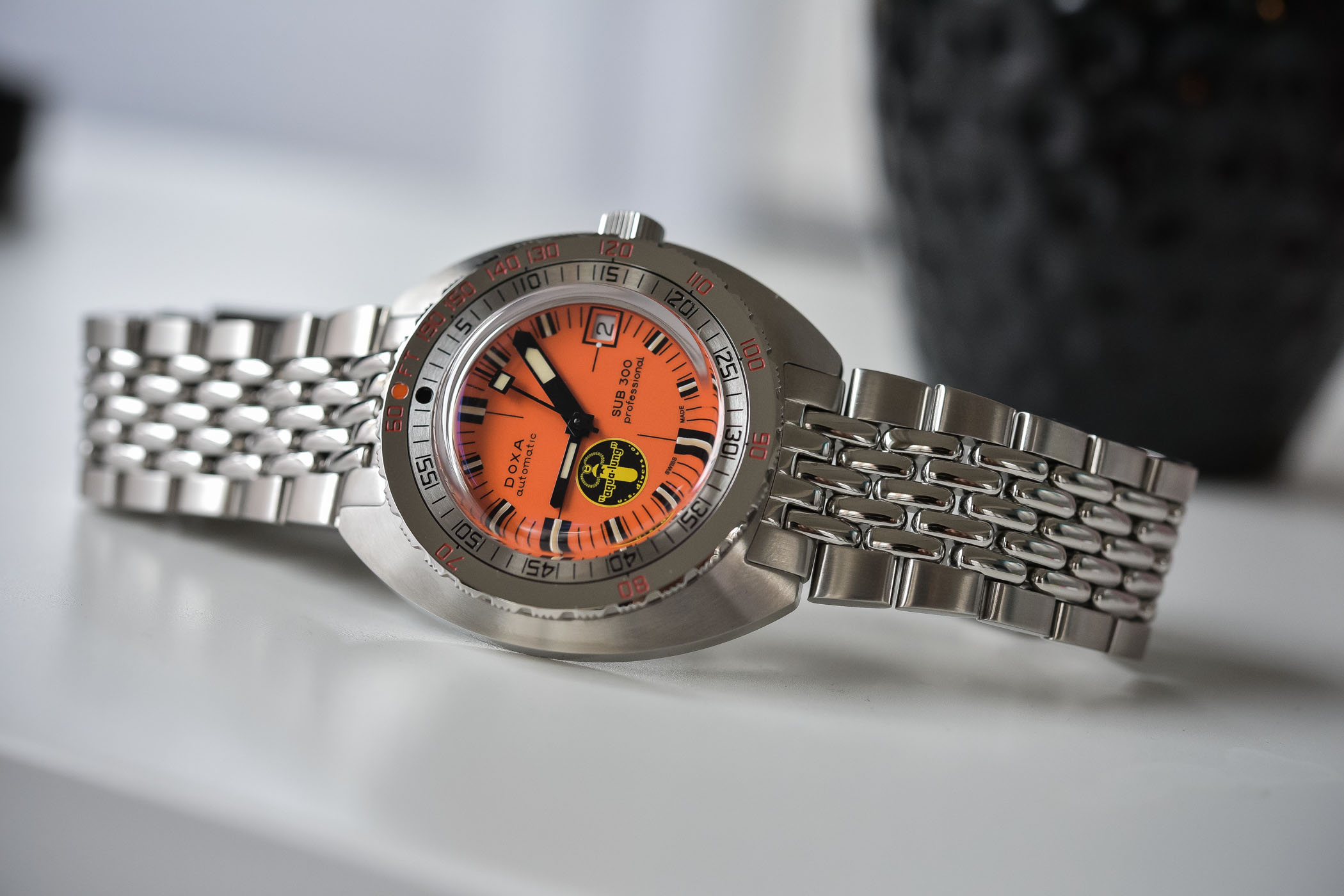 Doxa SUB-300 Black Lung Reissue