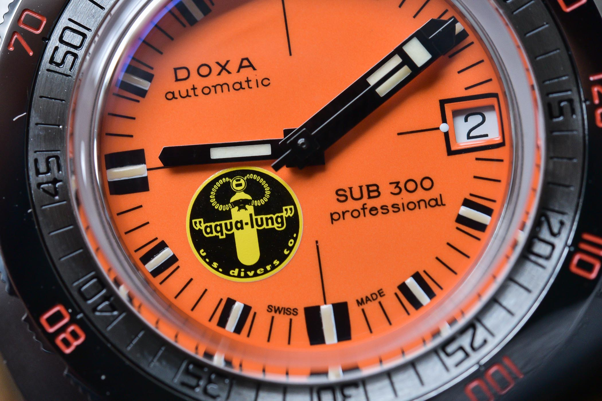 Doxa SUB-300 Black Lung Reissue