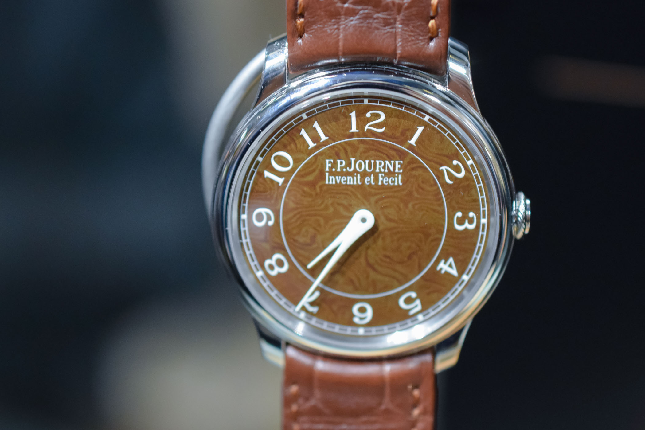 FP Journe Chronometre Hoilland and Holland Damascus Steel Dial