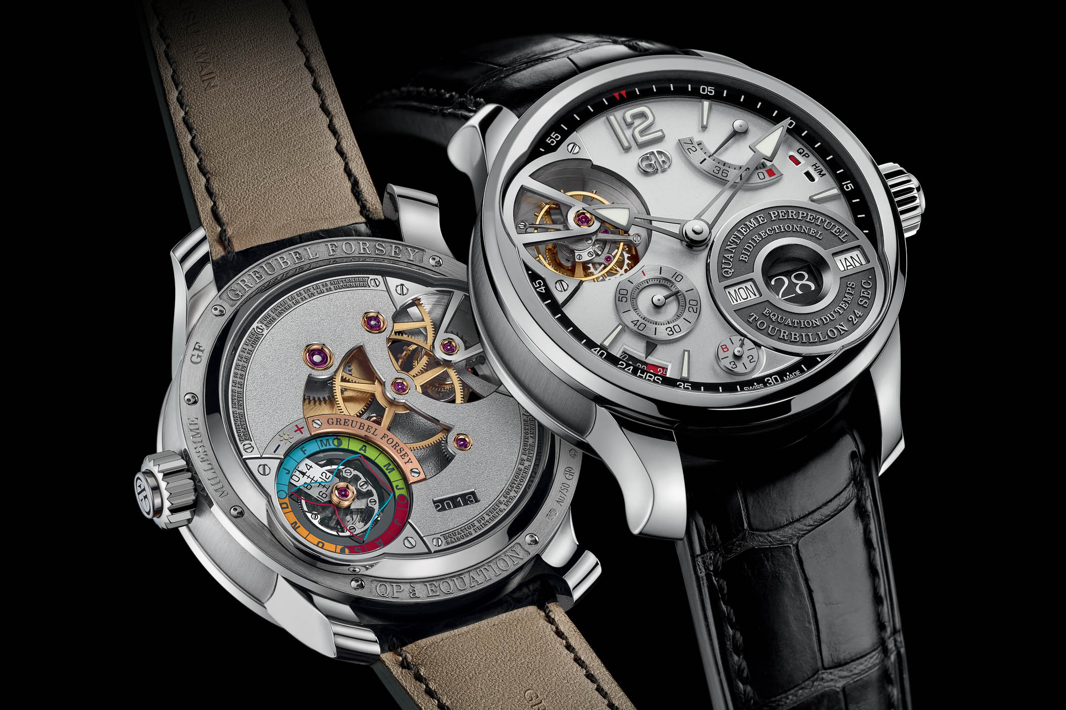 Greubel Forsey QP a Equation Rhodium gold dial