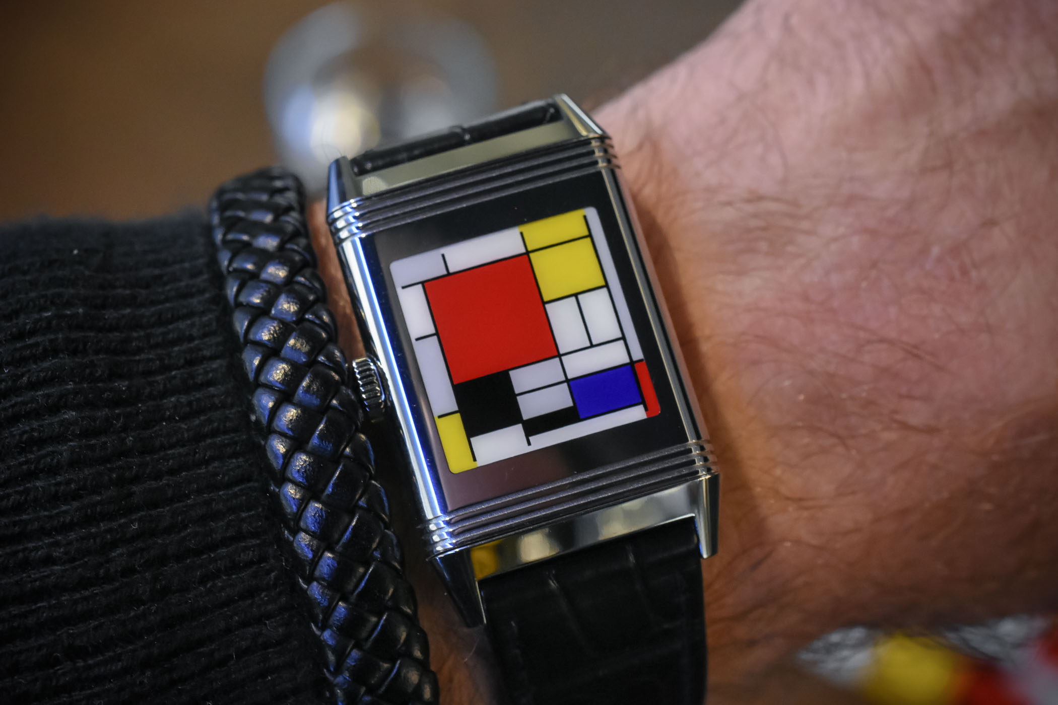 Jaeger-LeCoultre Reverso tribute to Piet Mondriaan De Stijl 100 years Steltman