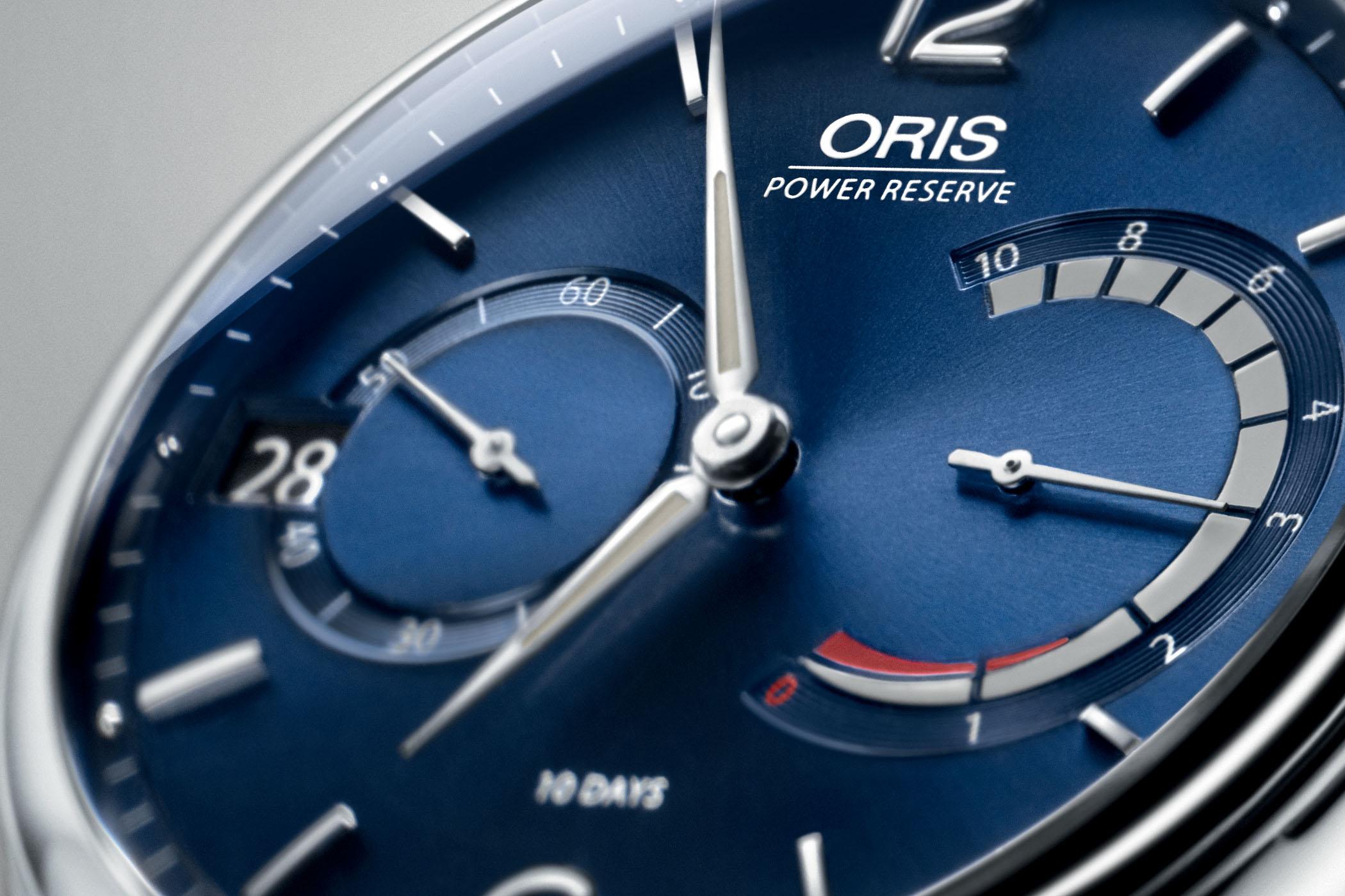 Oris Artelier Calibre 111 Blue Dial