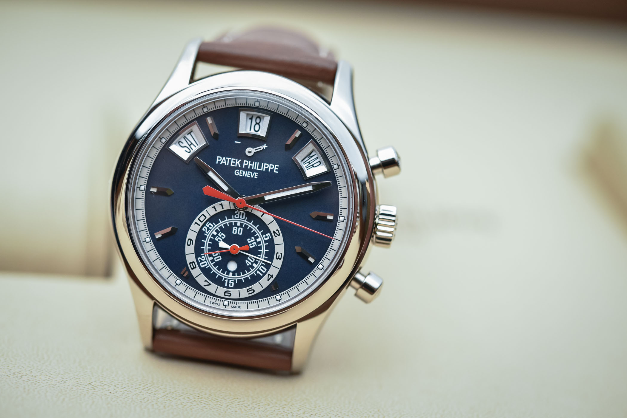 Patek Philippe Chronograph Annual Calendar 5960/01g