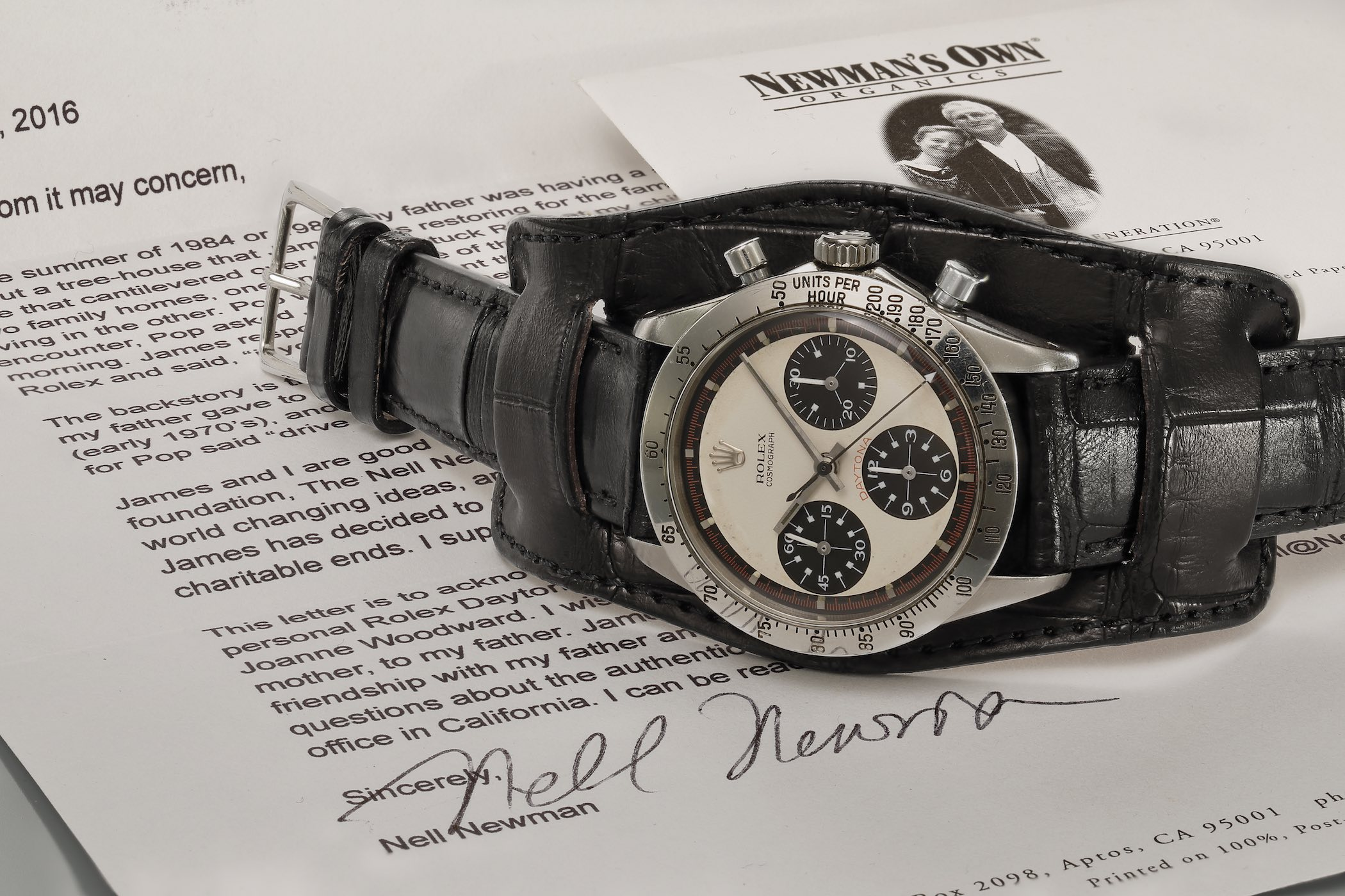 Paul Newman's Paul Newman Daytona Rolex - phillips Auction