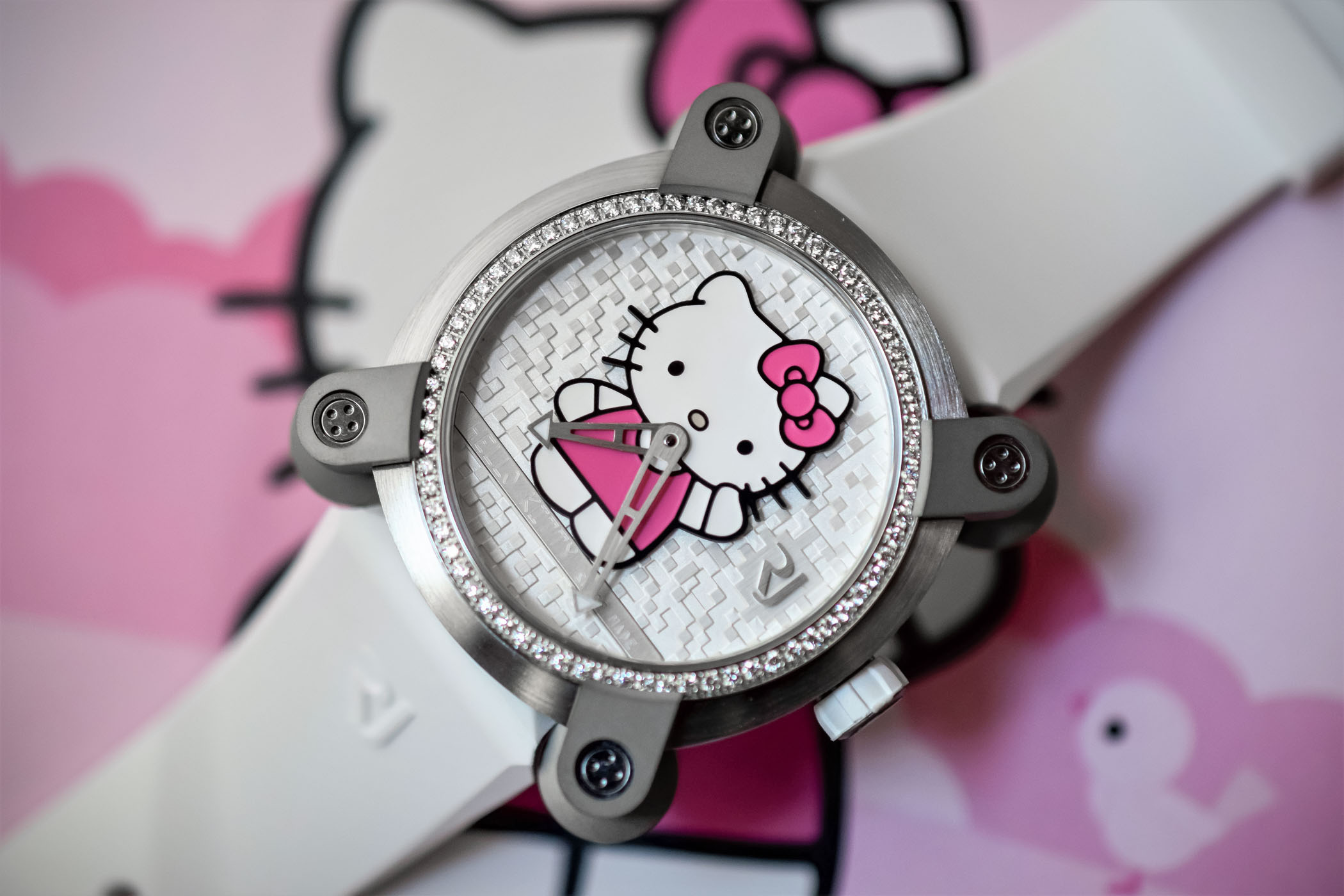 Introducing the rj romain jerome rj hello kitty live pics
