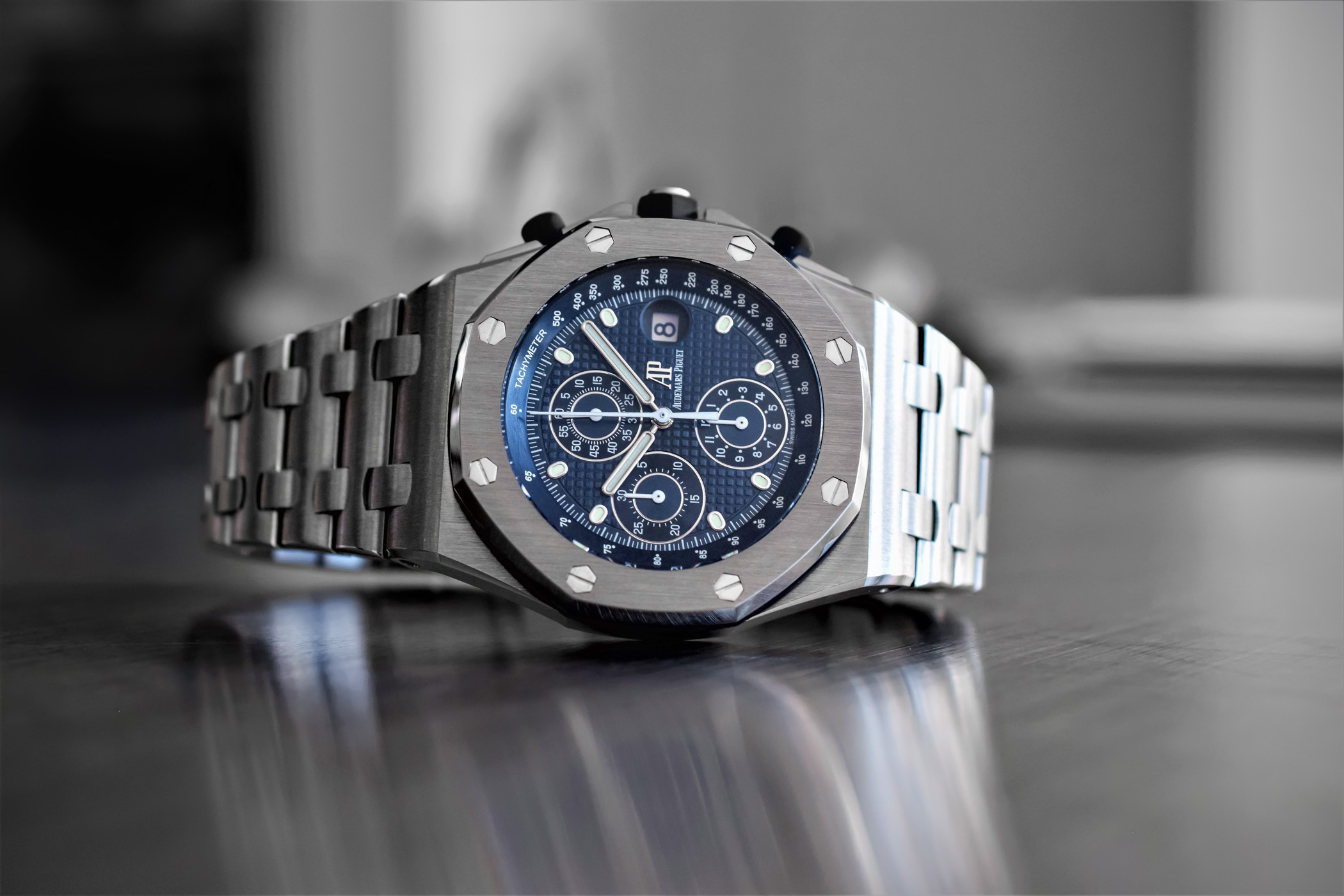 Audemars Piguet Royal Oak Offshore Chronograph Reedition 25th Anniversary 26237ST - 10