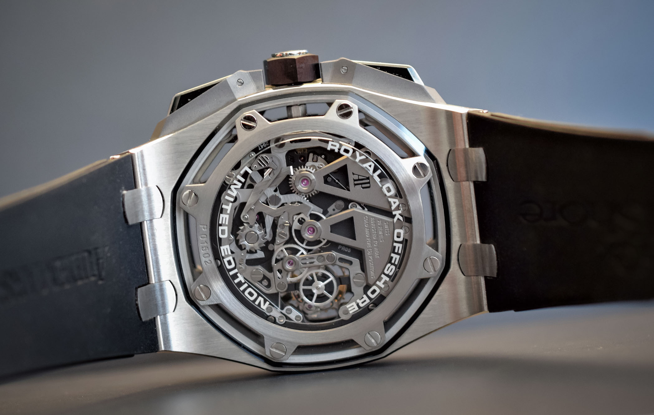 Audemars Piguet Royal Oak Offshore Tourbillon Chronograph 25th anniversary 26421