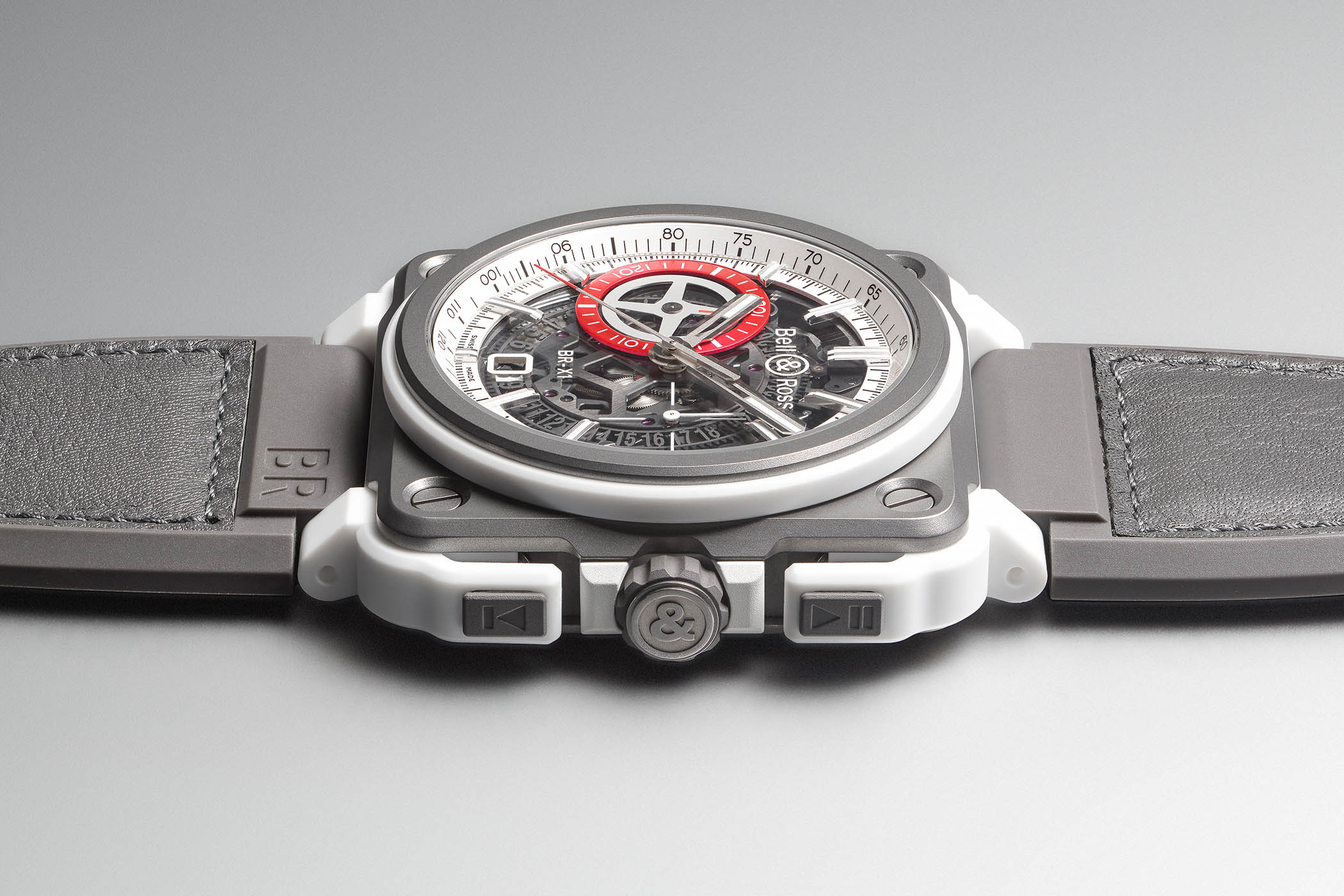Bell & Ross BR-X1 White Hawk Skeleton Chronograph