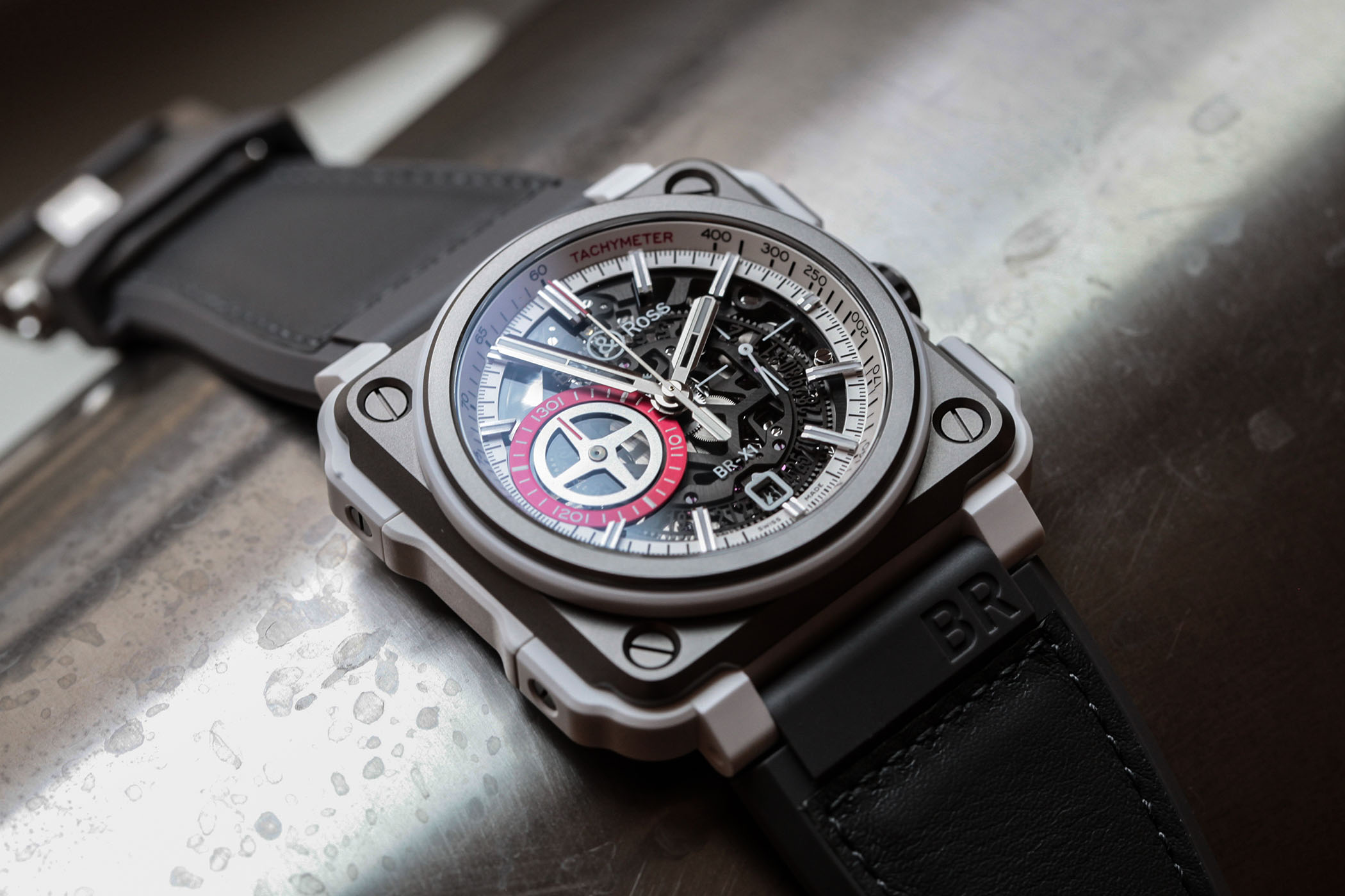 bfa4a47d1 Introducing - Bell & Ross BR-X1 White Hawk Skeleton Chronograph ...