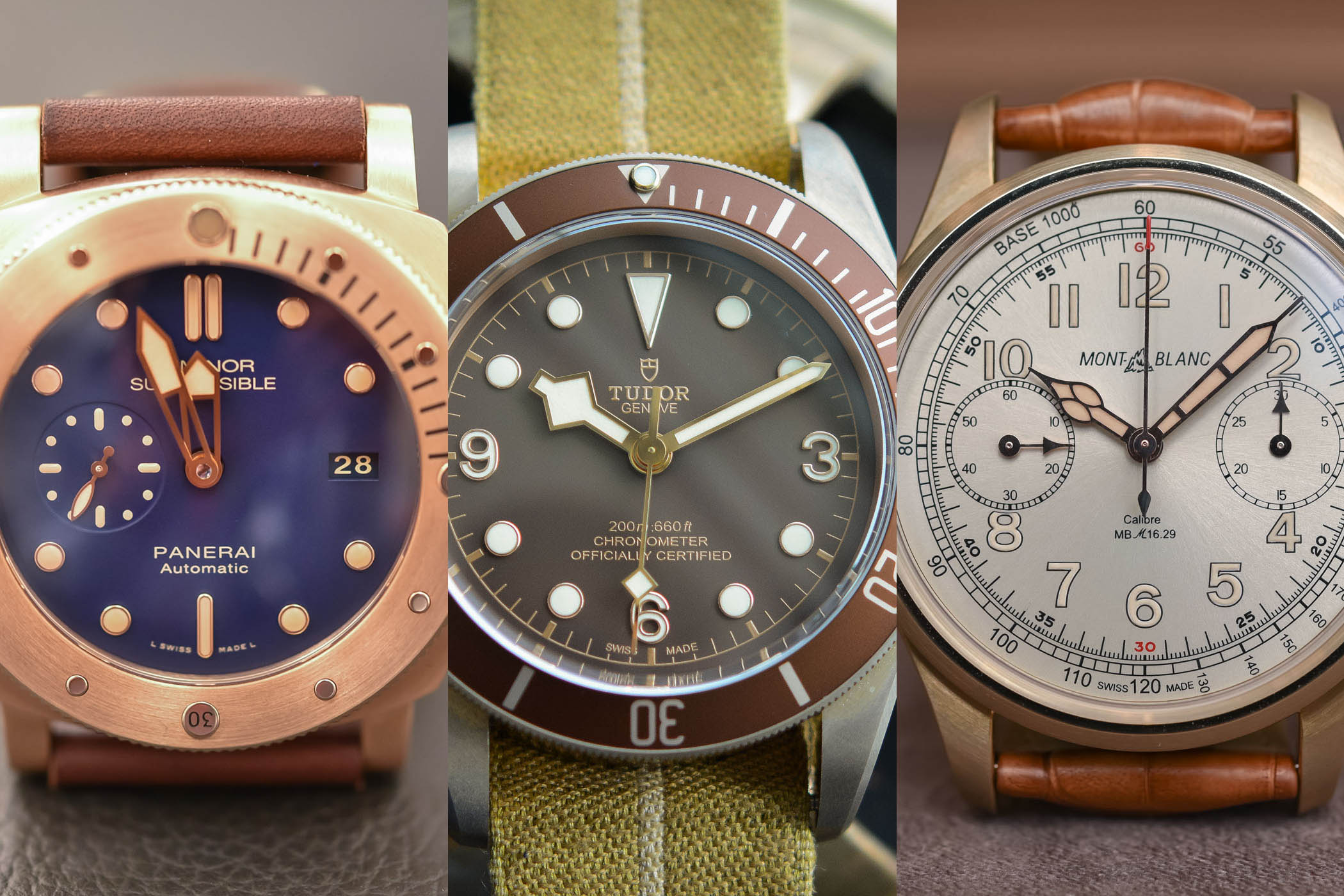 Buying Guide - 6 Great Bronze Watches for Patina Lovers