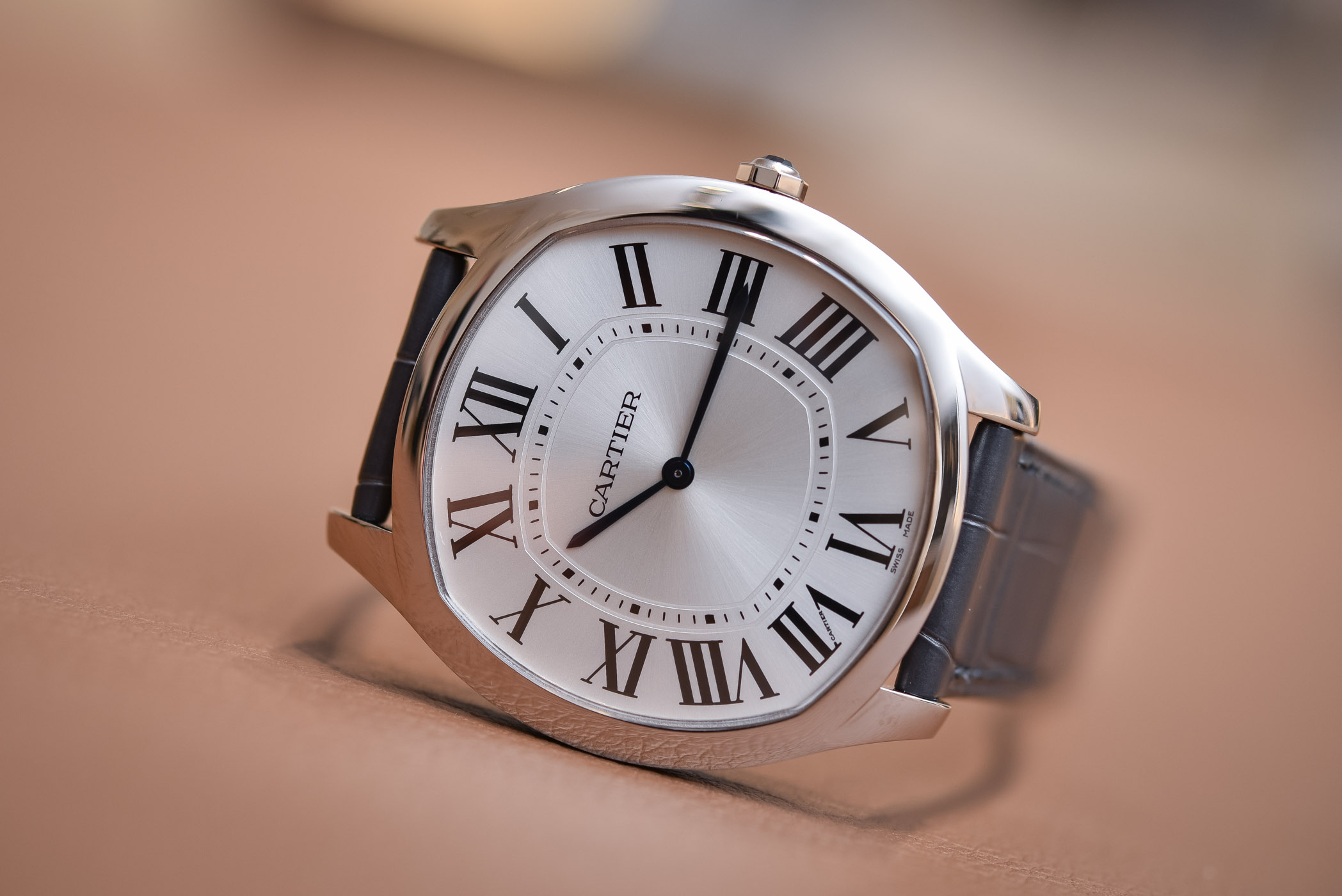Buying Guide Cushion Watches - Cartier Drive Extra-Flat