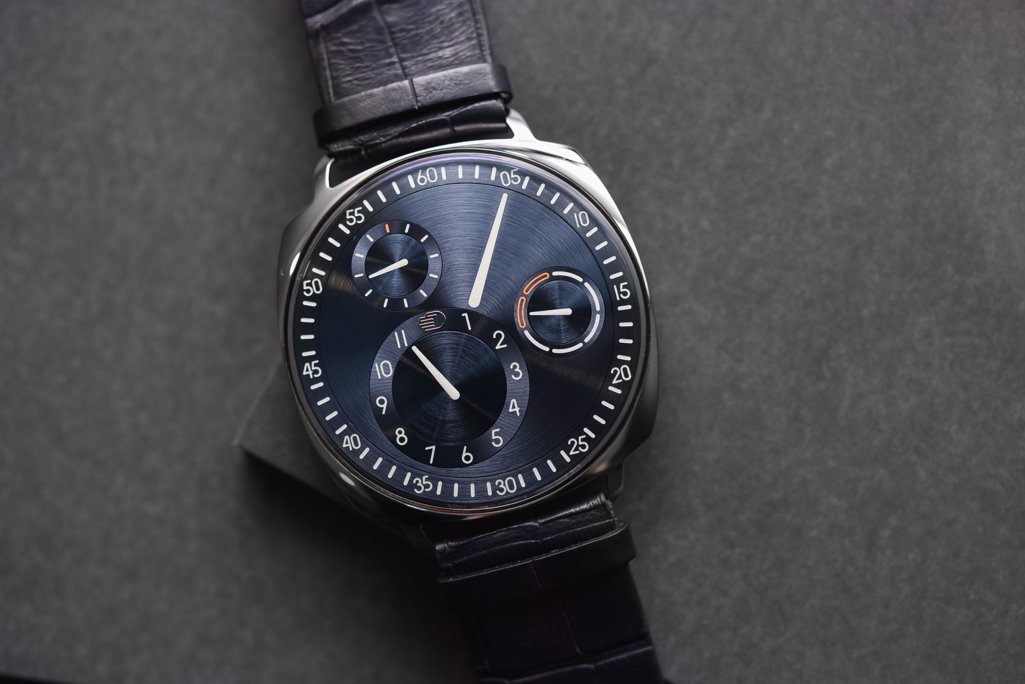 Buying Guide Cushion Watches - Ressence Type 1 Squared