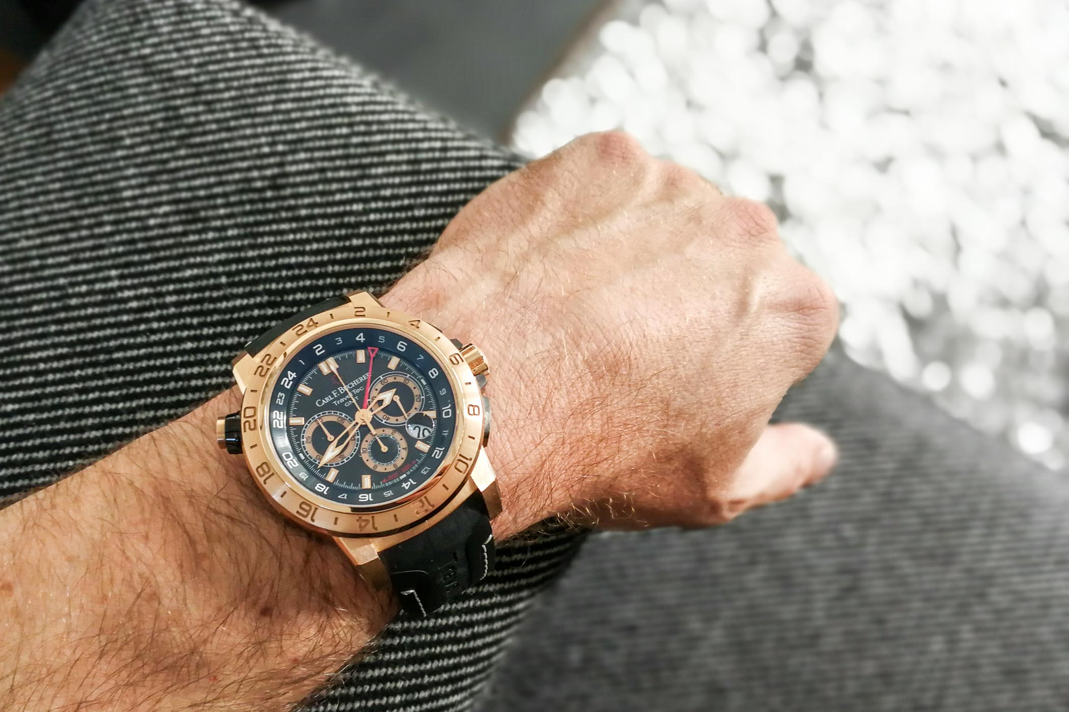 Carl F Bucherer TravelTec II wrist