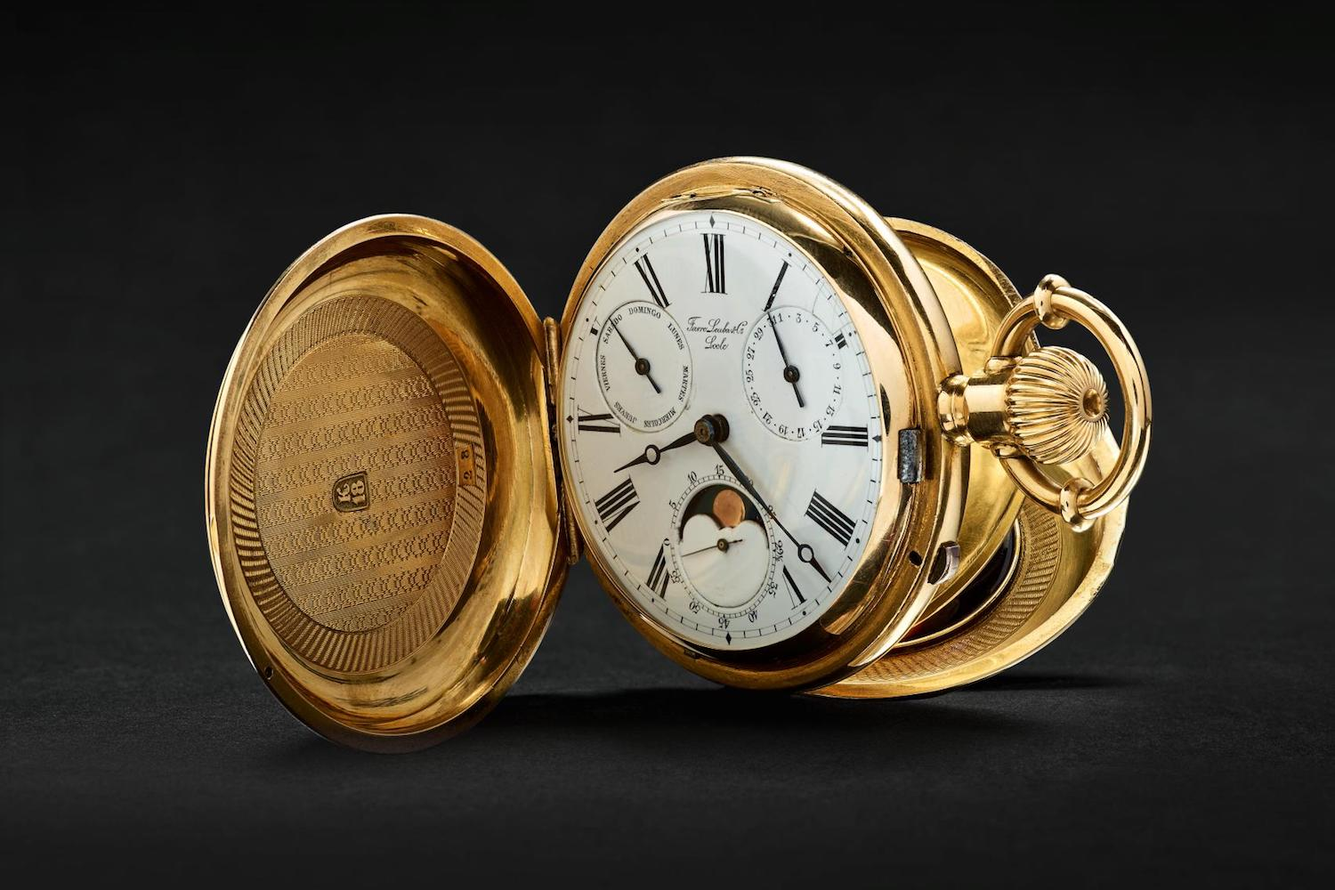 Favre Leuba historical pocket watch