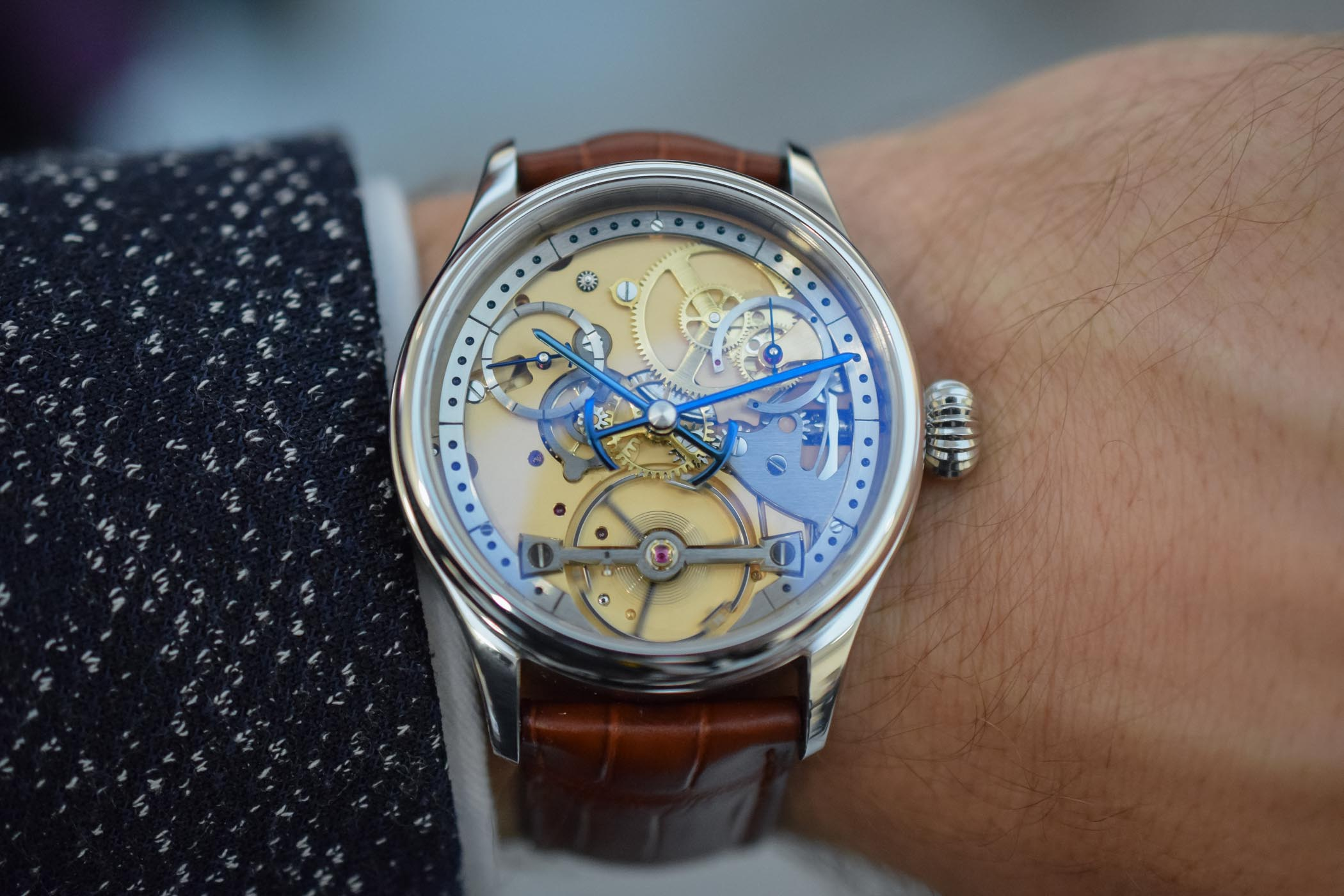 Garrick S1 Prototype Skeletonized Dial