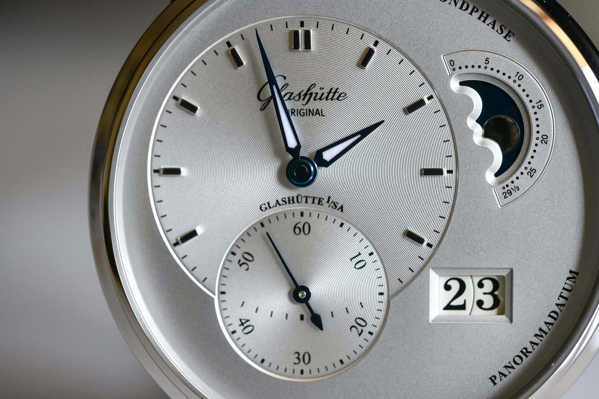 Glashutte Original PanoMaticLunar Steel 1-90-02-42-32-05