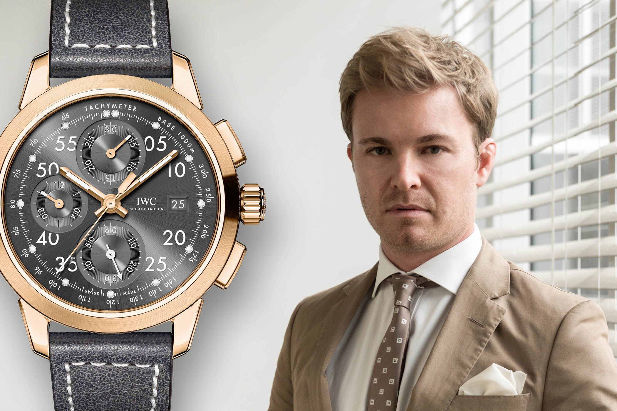 IWC Ingenieur Chronograph Tribute to Nico Rosberg
