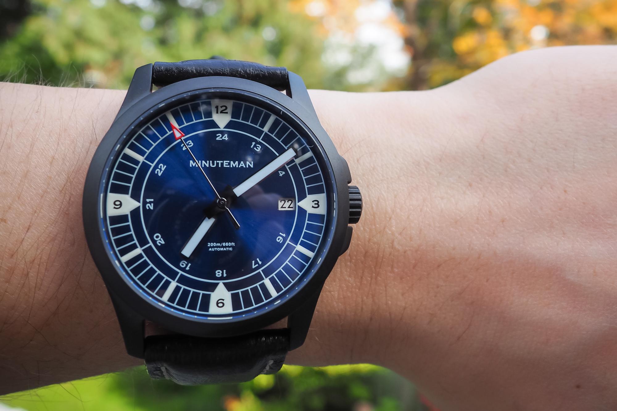 Minuteman Watches RWB DLC - Military Watch assembled USA