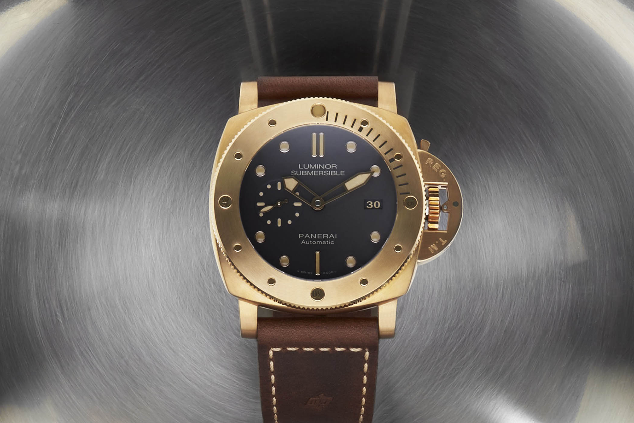 Panerai Luminor Submersible 1950 3 Days Automatic Bronzo 47mm PAM00907 unique piece sothebys