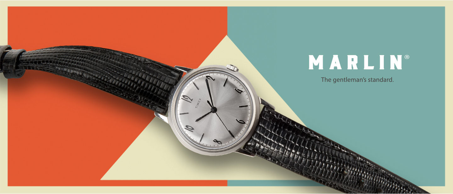 Timex Marlin Vintage - timex mechanical watch