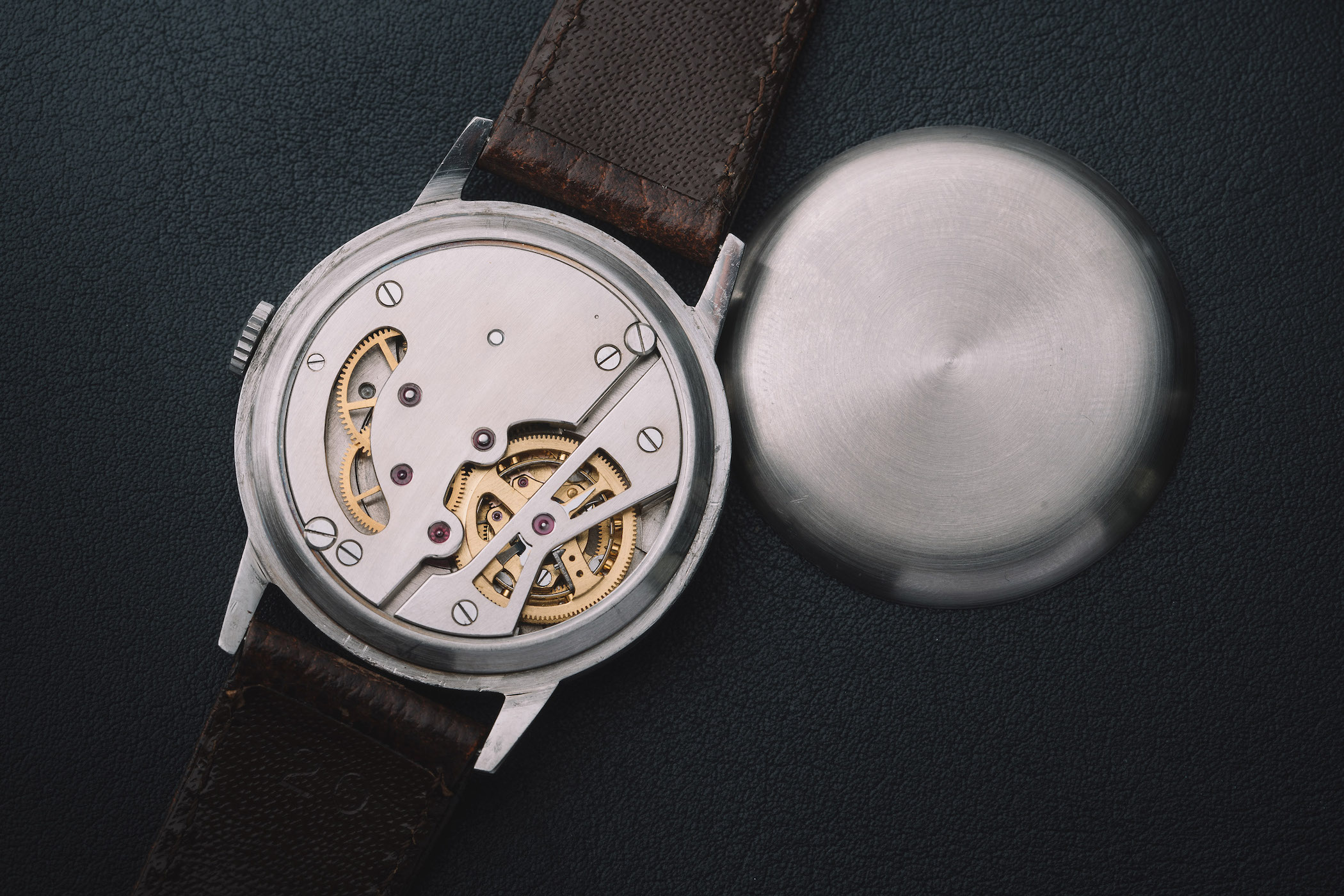 Omega Tourbillon 30 from 1947 - One Of The First Tourbillon Wristwatches Ever Made - 22