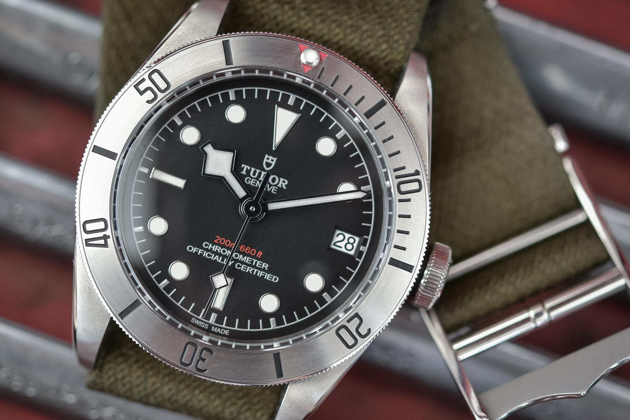 Tudor Heritage Black Bay Steel 79730