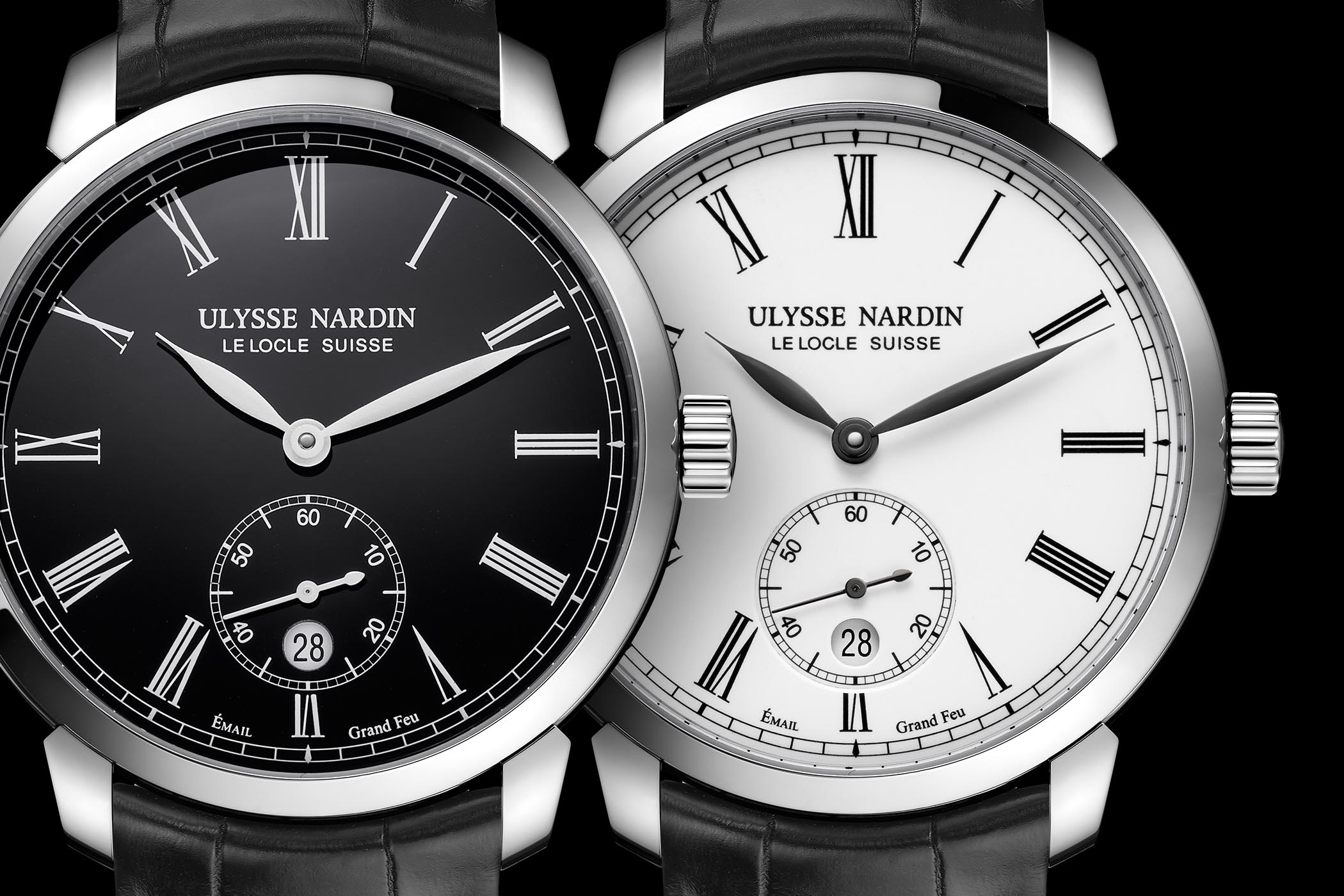 Ulysse Nardin Classico Manufacture Grand Feu pre-SIHH 2018