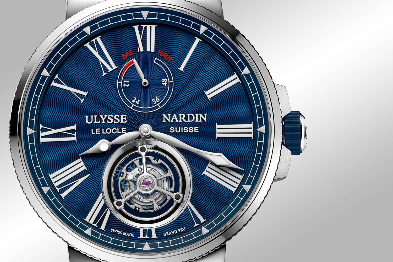 Ulysse Nardin Marine Tourbillon Blue Grand Feu - Pre-SIHH 2018