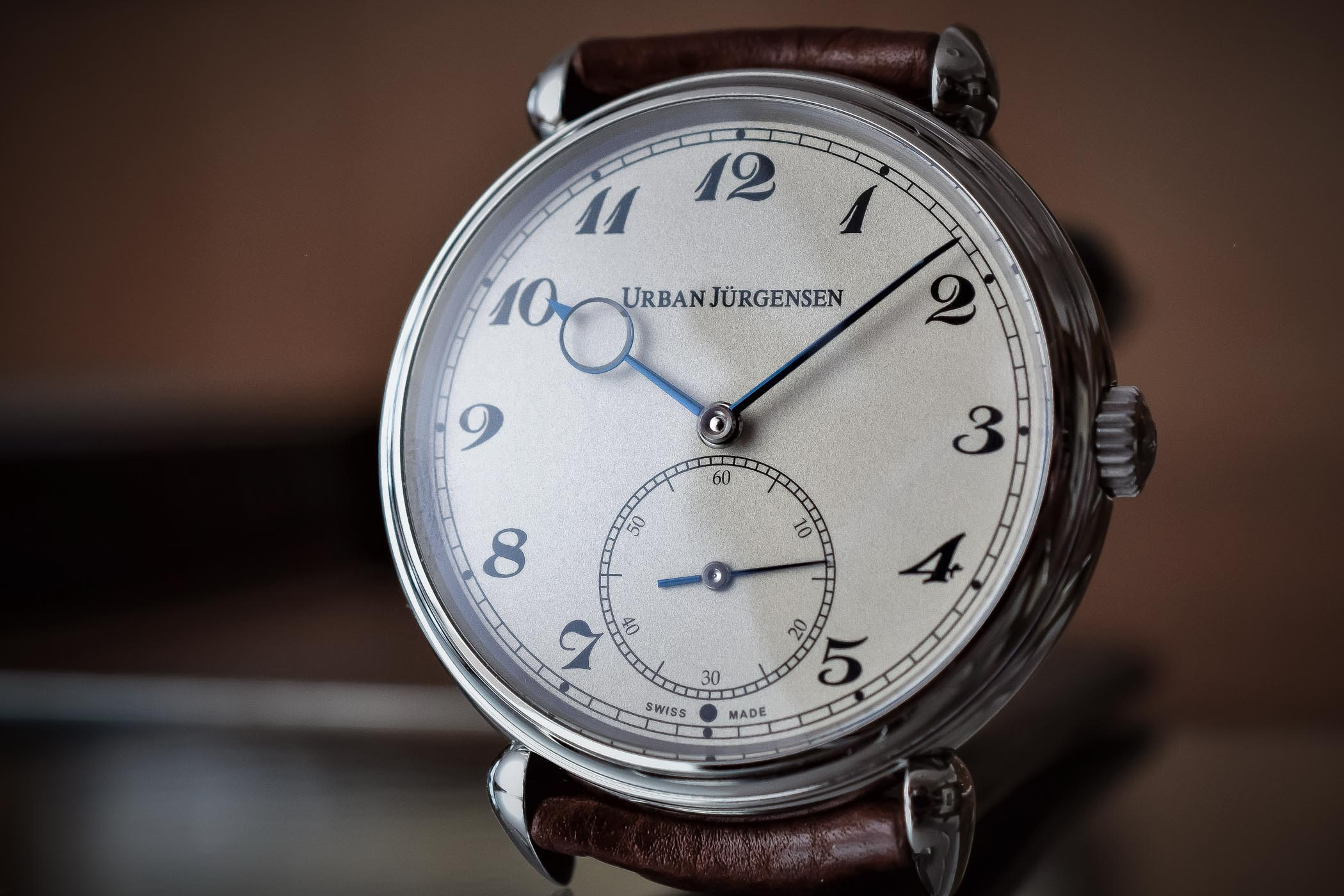 Urban Jurgensen the Alfred Steel