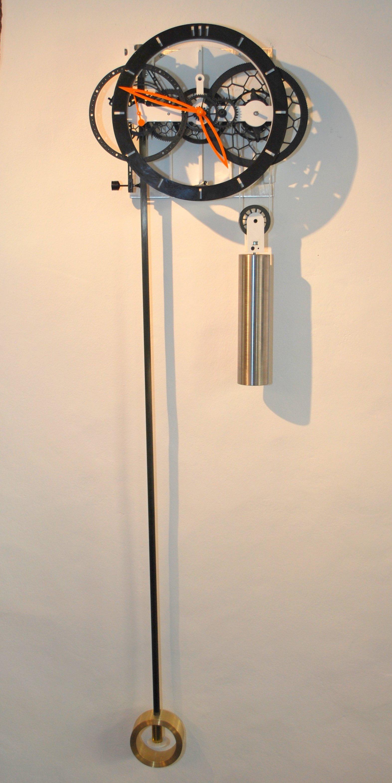 3D-Printed Pendulum Clock Ingenieur du Temps - 3