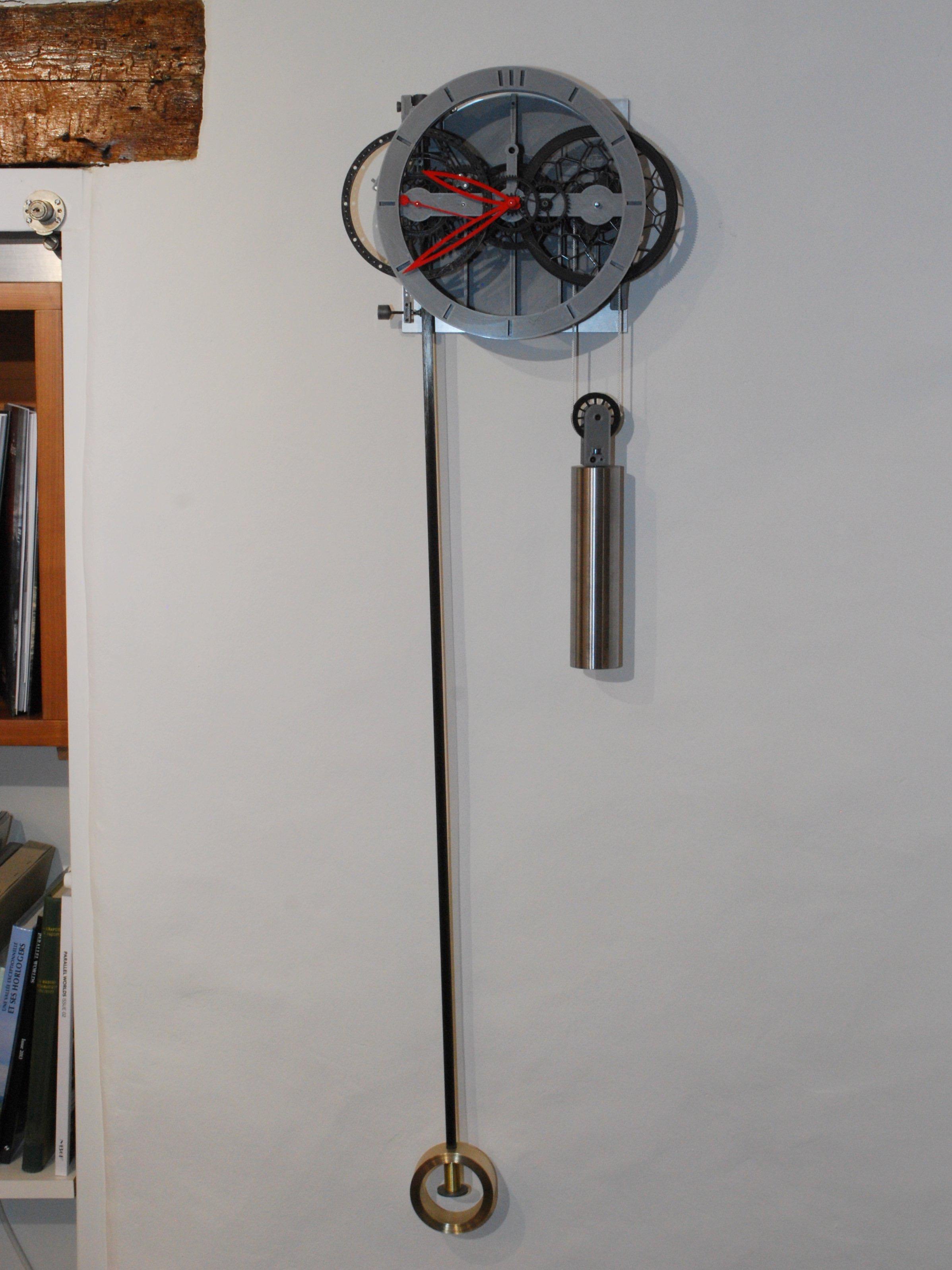 3D-Printed Pendulum Clock Ingenieur du Temps - 5