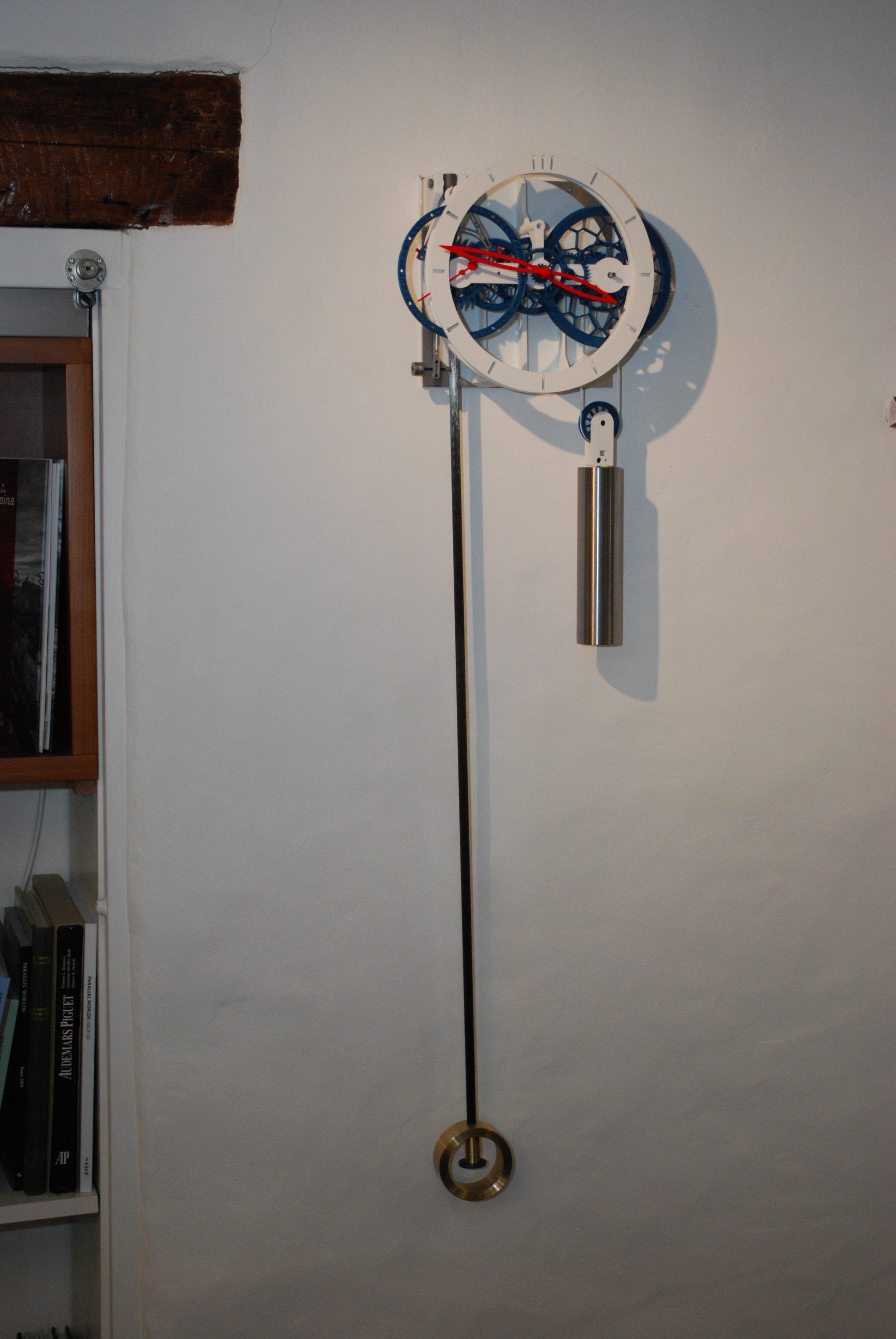 3D-Printed Pendulum Clock Ingenieur du Temps - 6