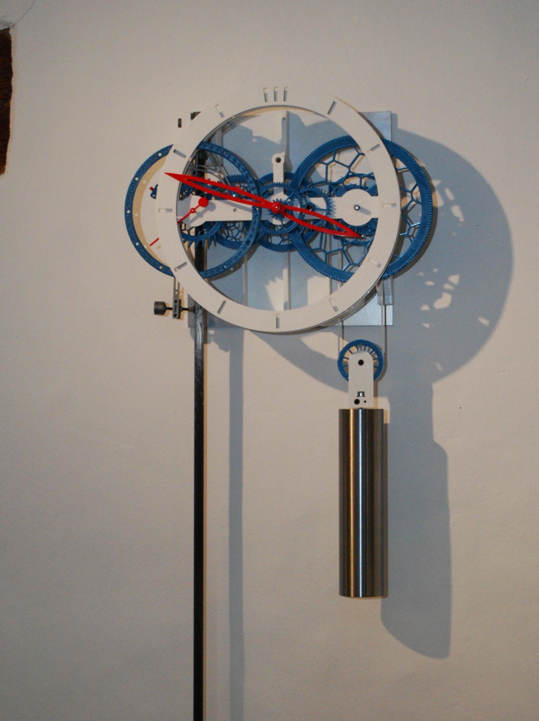 Introducing - The 3D-Printed Pendulum Clock From Ingénieur