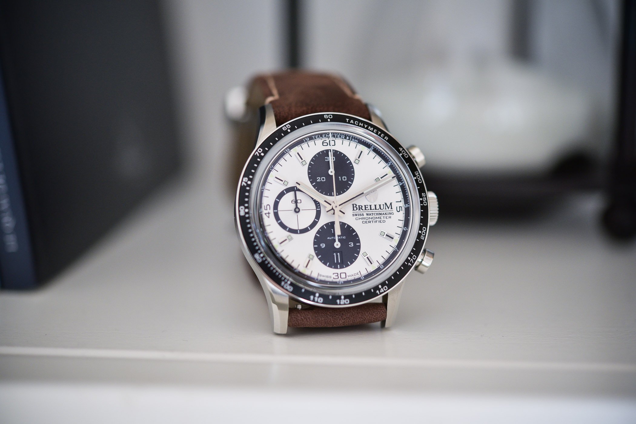 Brellum Duobox Pandial Chronograph