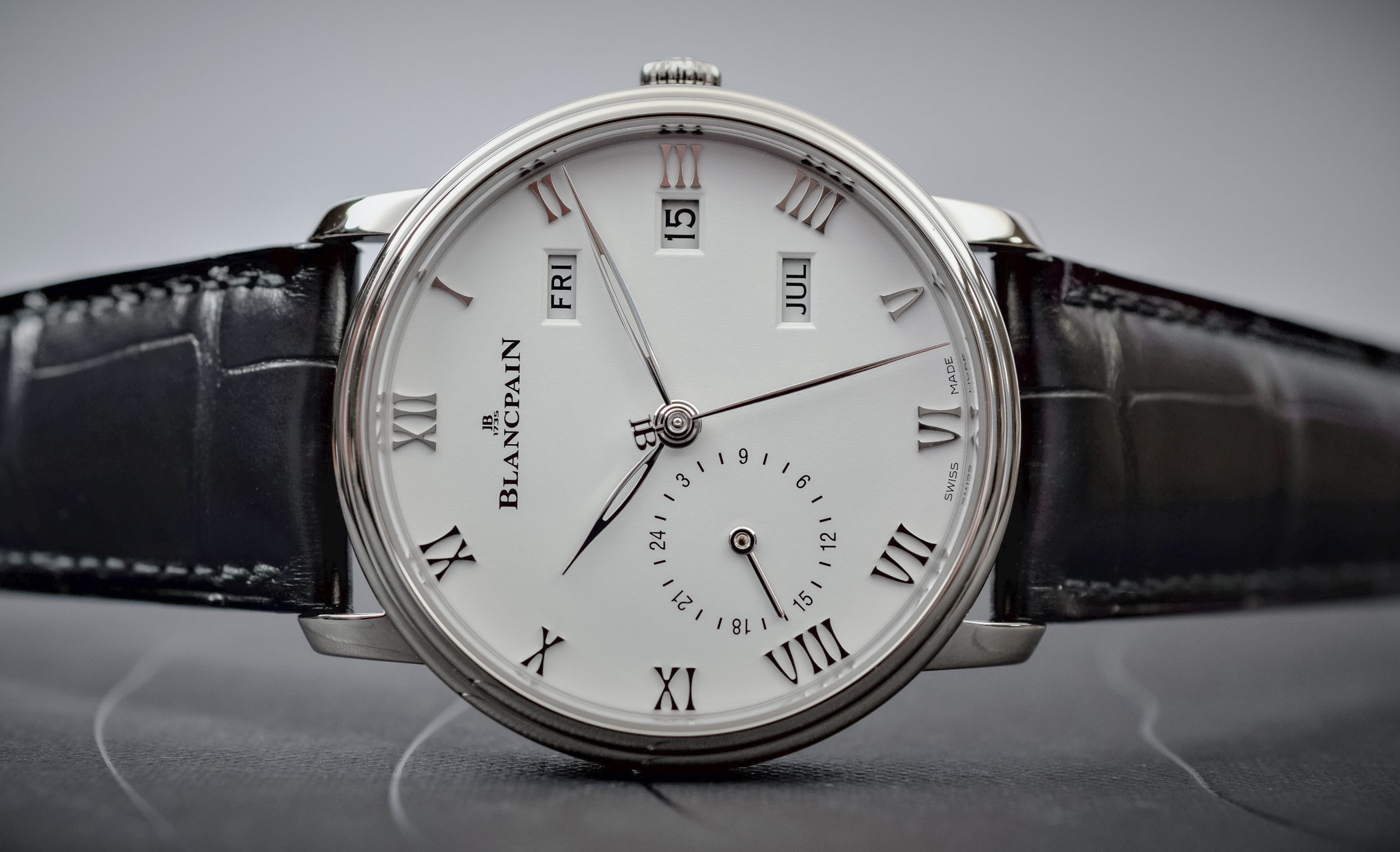 Buying Guide 2017 Annual Calendar Watches - Blancpain Villeret Annual Calendar