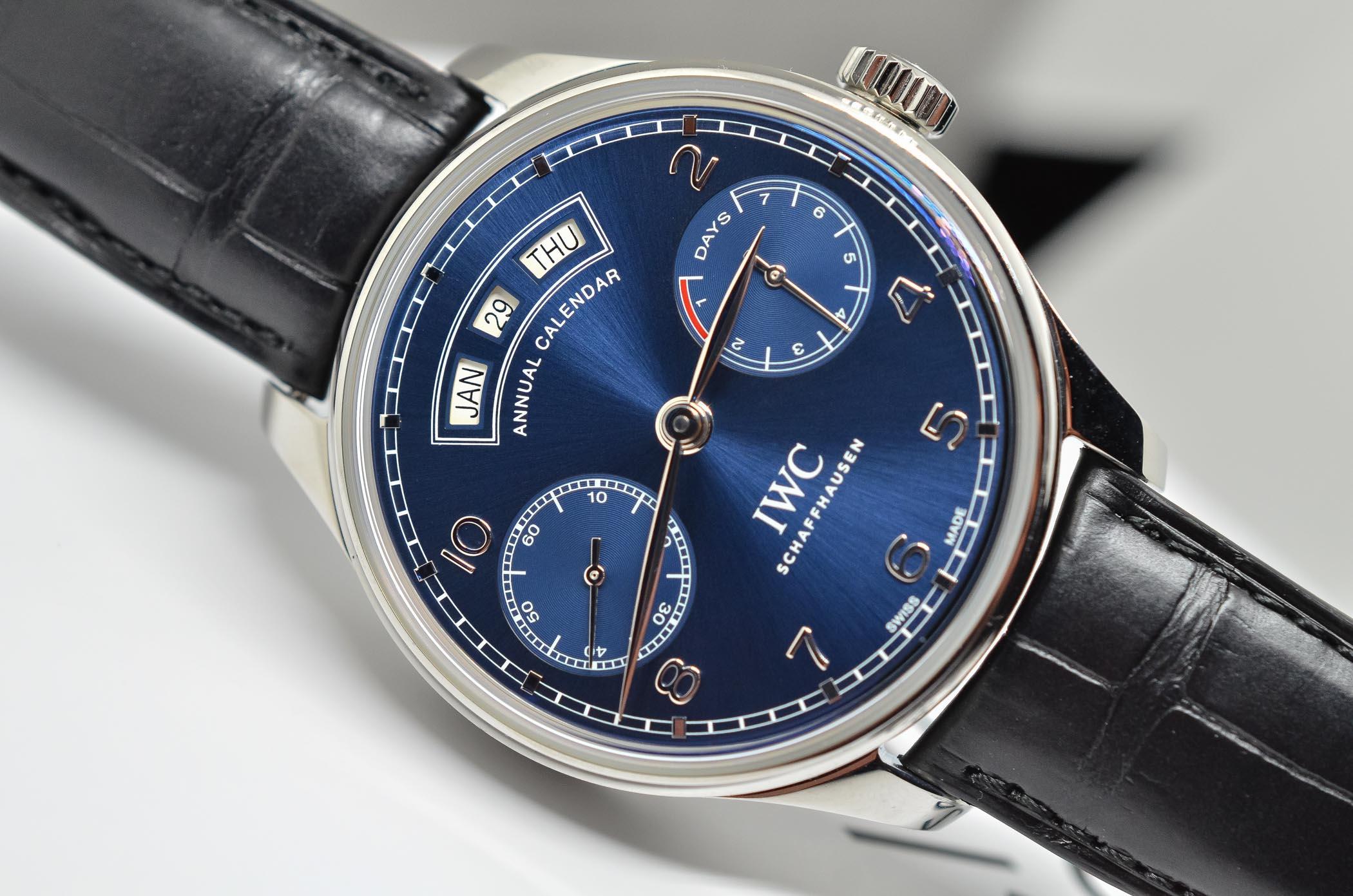 Buying Guide 2017 Annual Calendar Watches - IWC Portugieser Annual Calendar