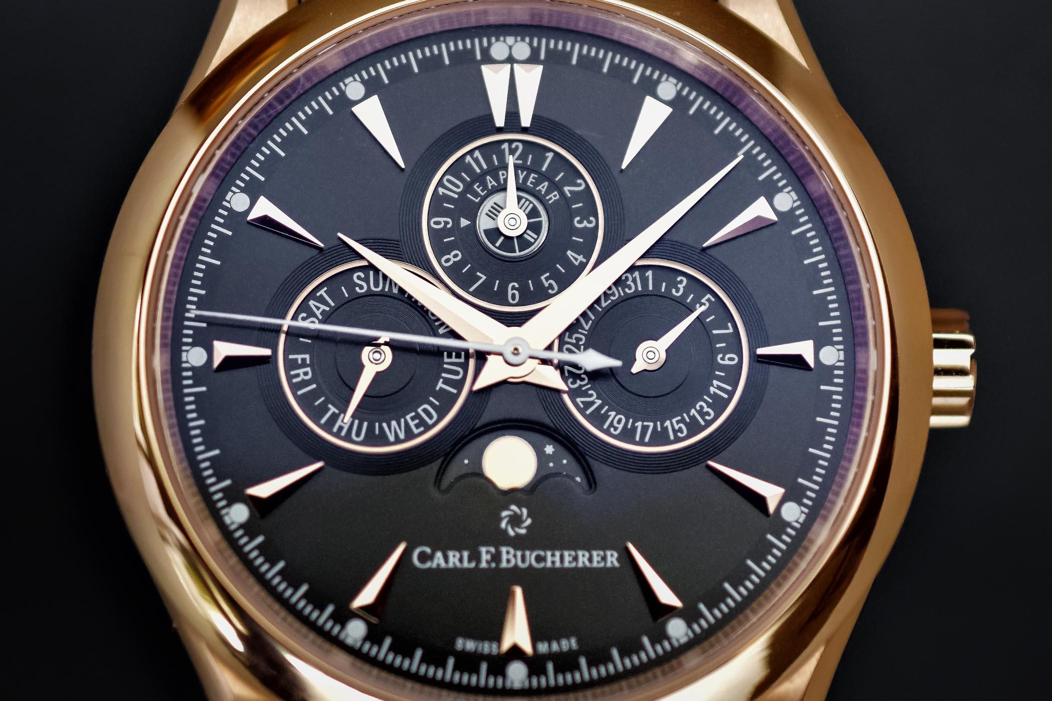 Carl F. Bucherer Manero Perpetual Limited Edition