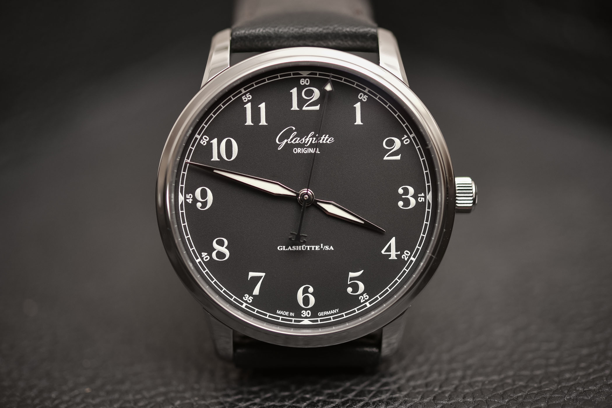 Glashutte Original Senator Excellence Black Dial 1-36-01-03-02-30
