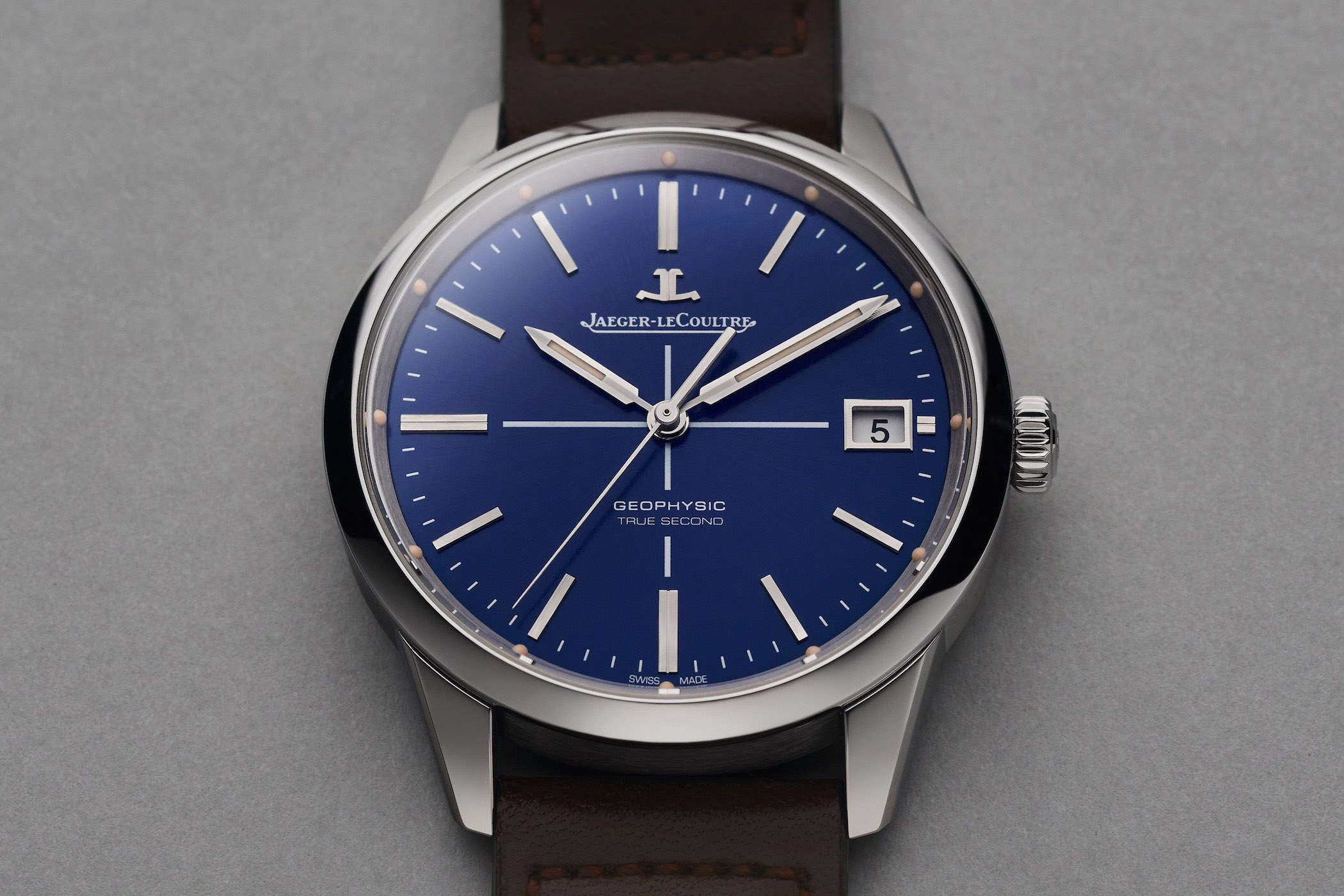 Jaeger-LeCoultre Geophysic True Second Limited Edition Blue Dial