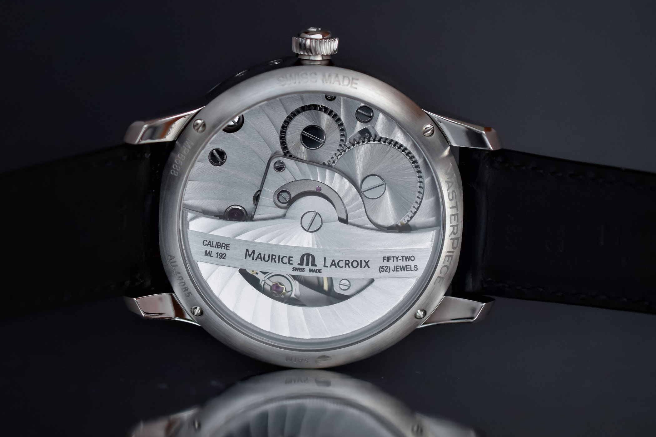 Maurice Lacroix Masterpiece Moon Retrograde 2017 collection