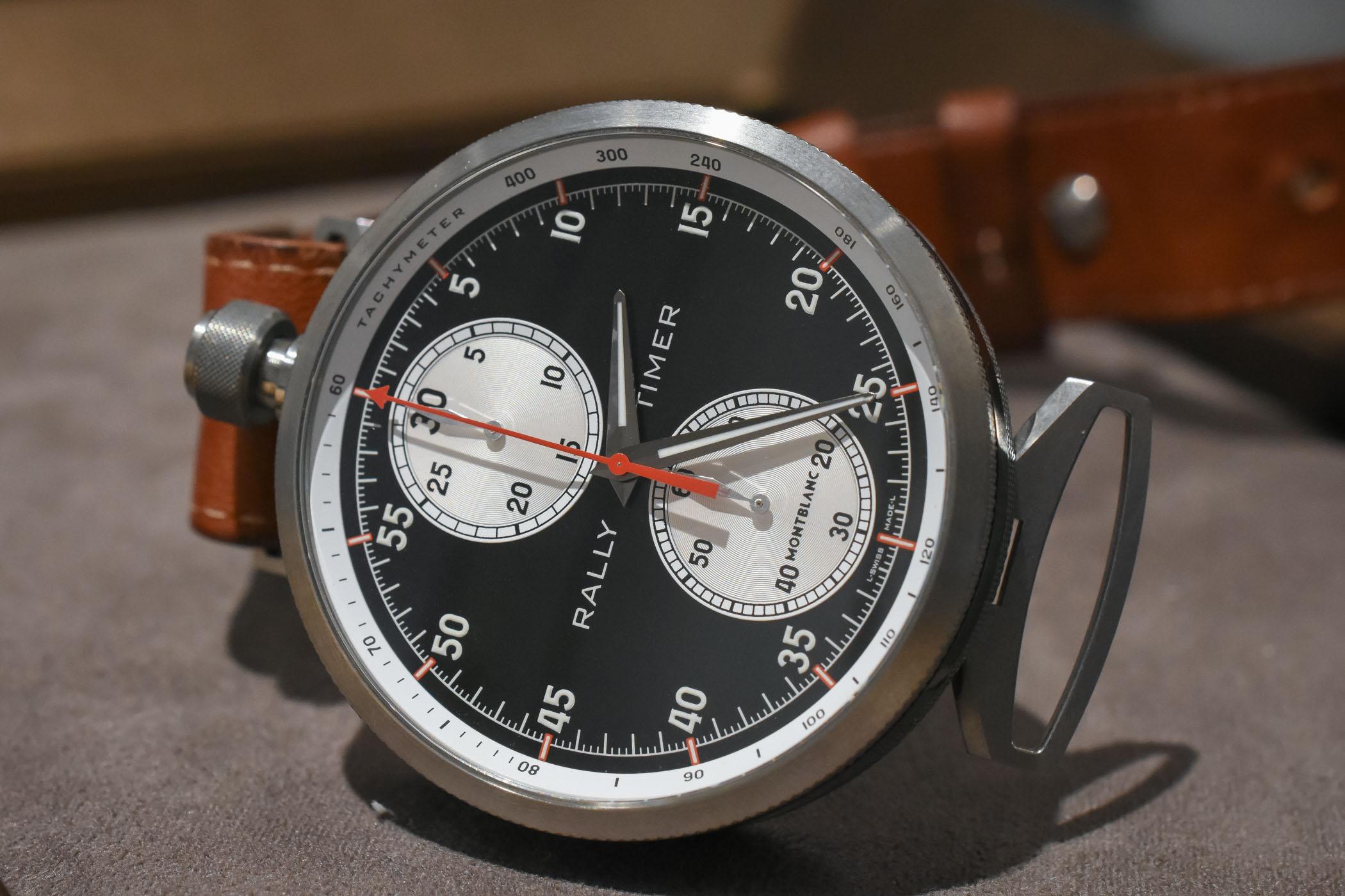 Montblanc TimeWalker Rally Timer Chronograph Reversed Panda SIHH 2018