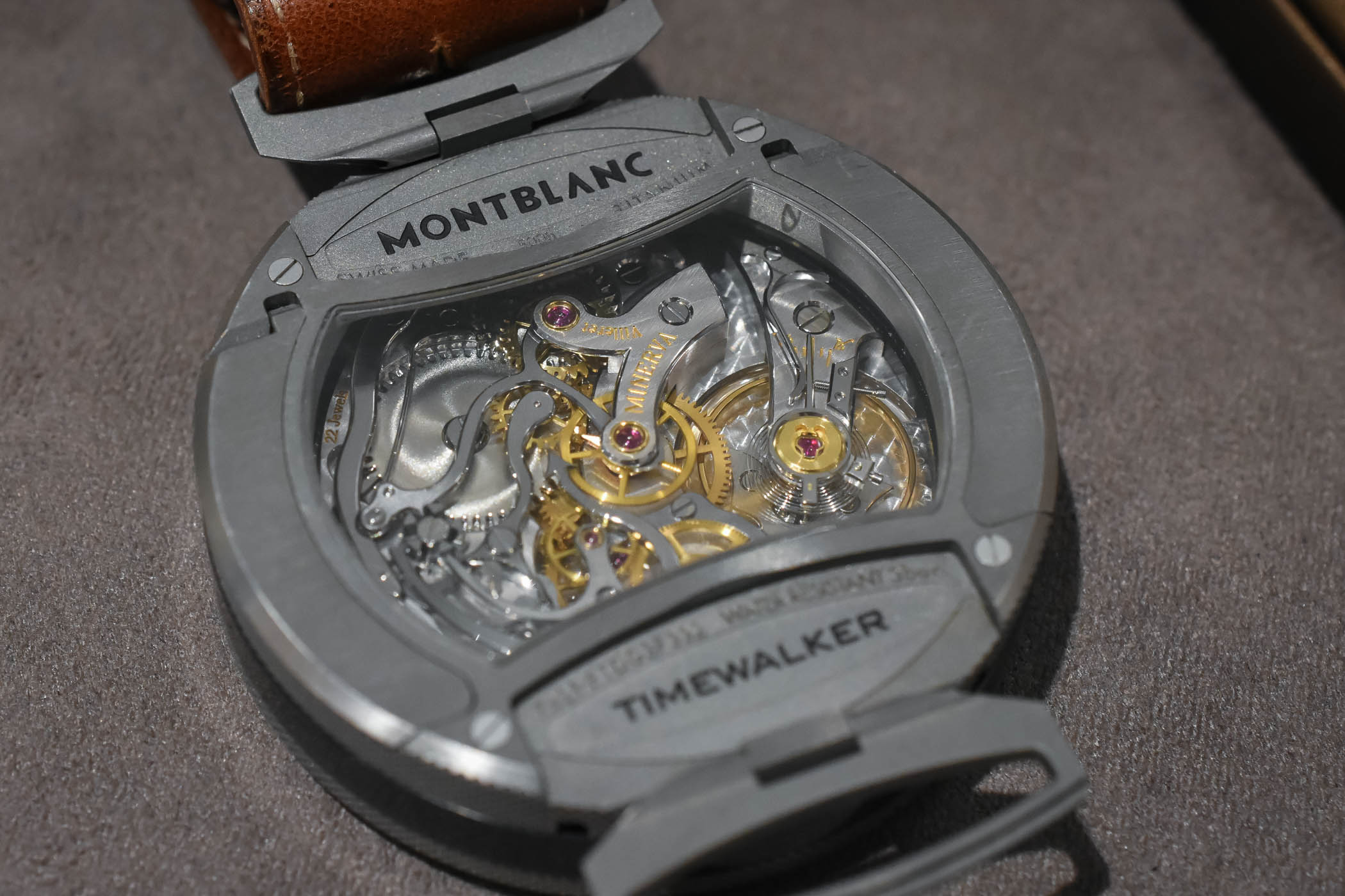 Montblanc TimeWalker Rally Timer Chronograph Reversed Panda SIHH 2018