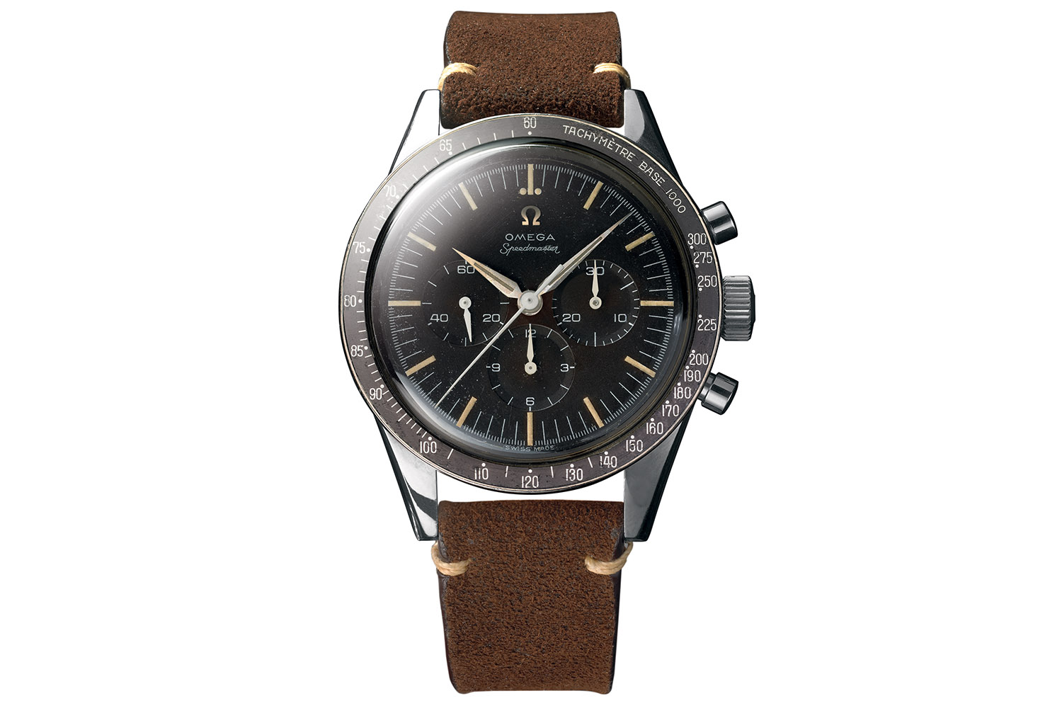 Omega Speedmaster CK2998 alpha hands - first omega in space 1958