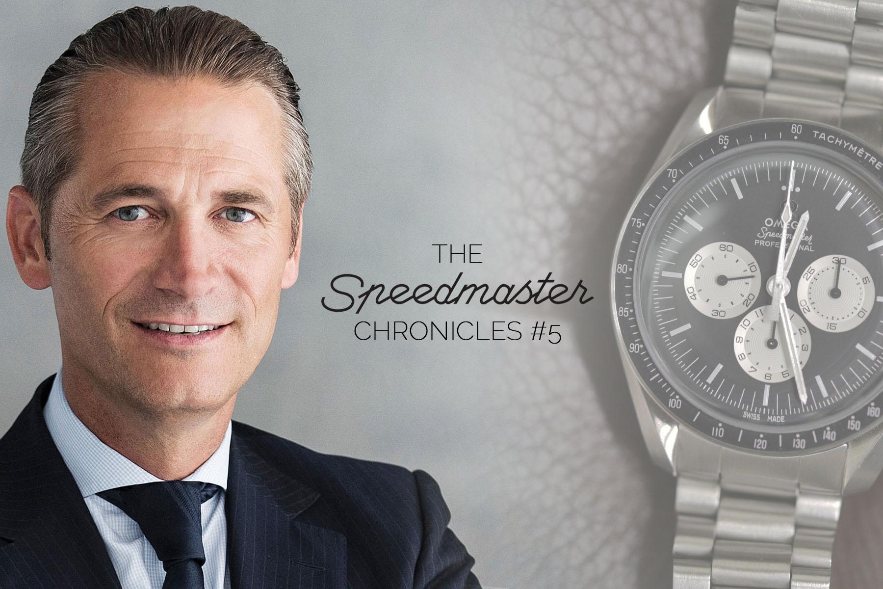 The Speedmaster Chronicles Episode 5 - Raynald Aeschlimann, President and CEO of Omega Watches