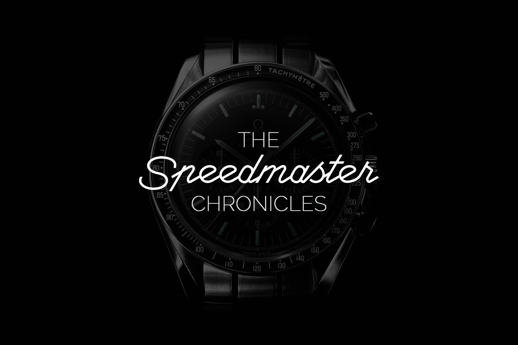 The Speedmaster Chronicles - Video Project MONOCHROME-Watches