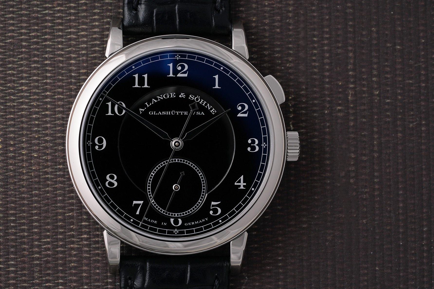 A. Lange Sohne 1815 Homage to Walter Lange Unique Piece Steel Auction Phillips Watches