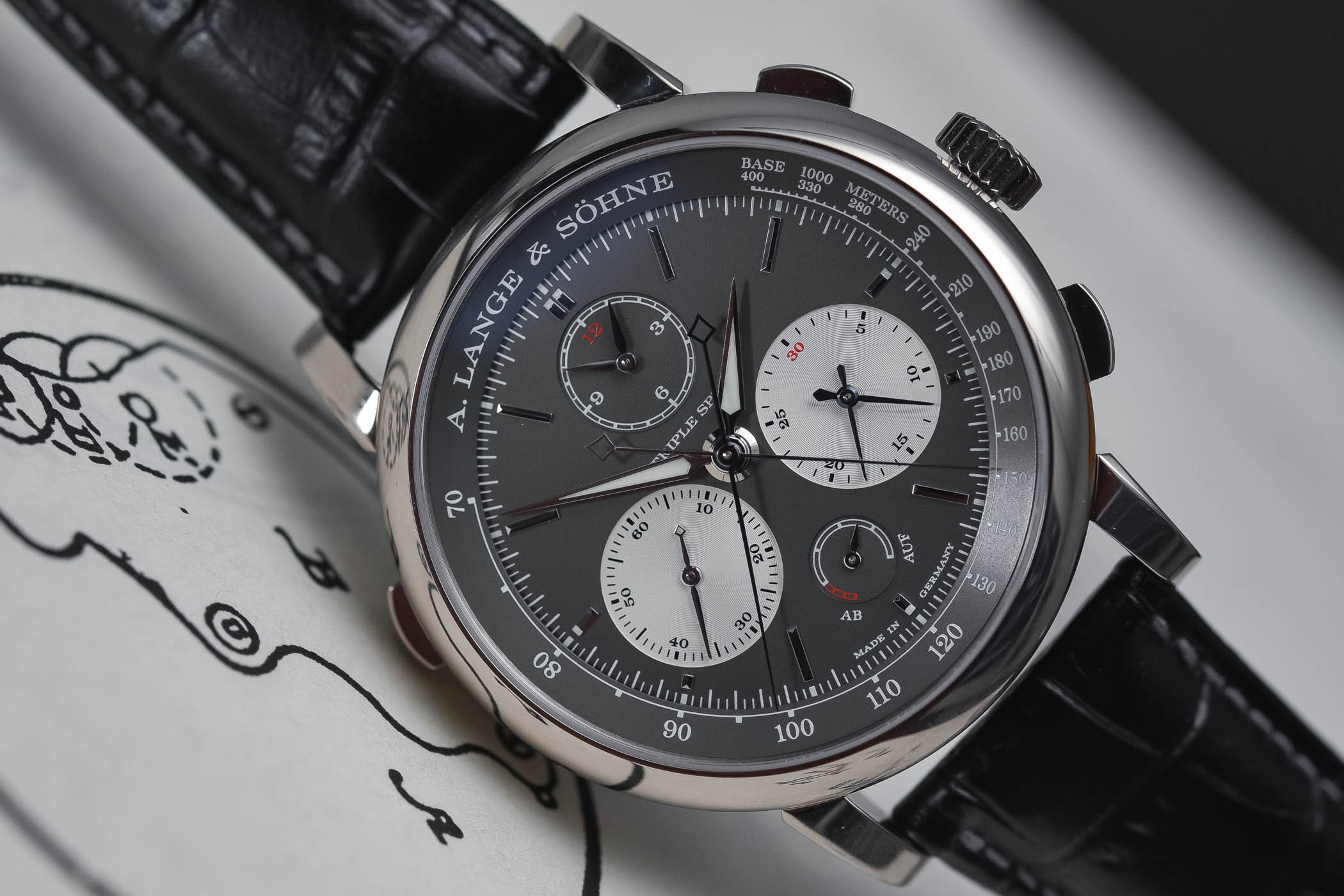 A. Lange and Sohne Triple Split SIHH 2018 - Review