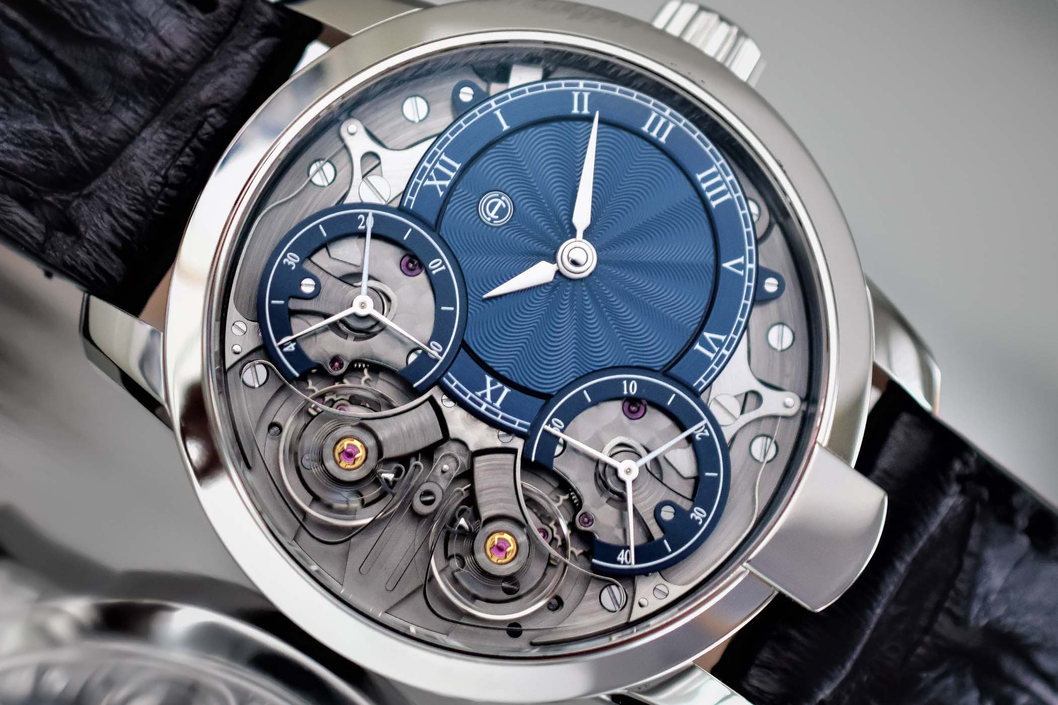 Armin Strom Mirrored Force Resonance Guilloche Dials by Voutilainen