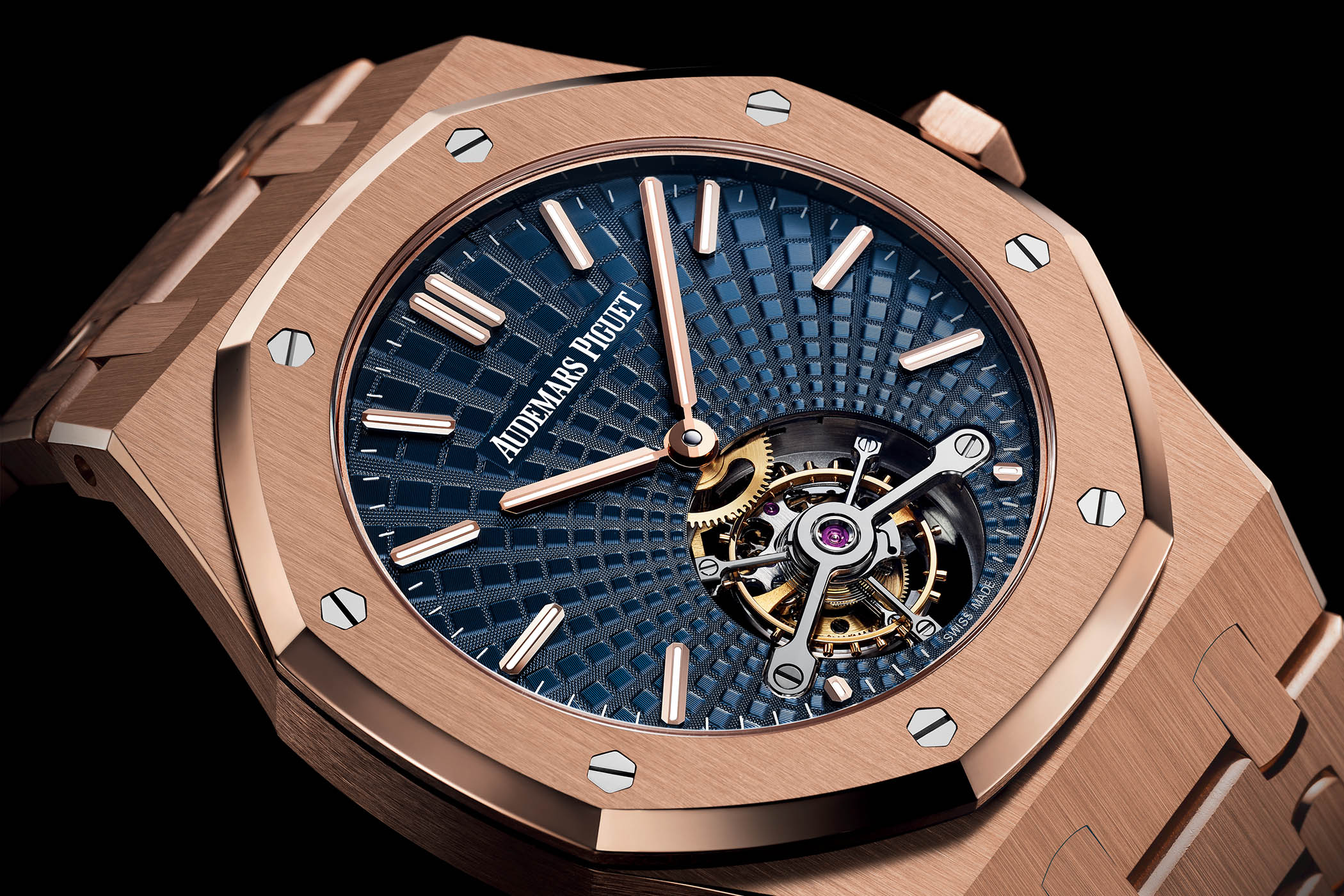 Audemars Piguet Royal Oak Extra-Thin Tourbillon Tapisserie Evolutive 26522 - SIHH 2018